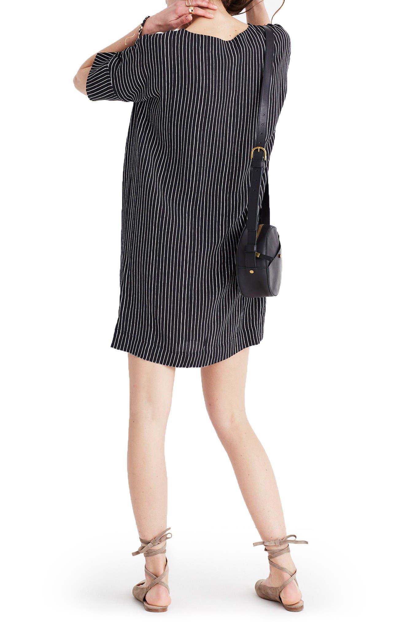 Alternate Image 2  - Madewell Novel Chalkboard Stripe Dress