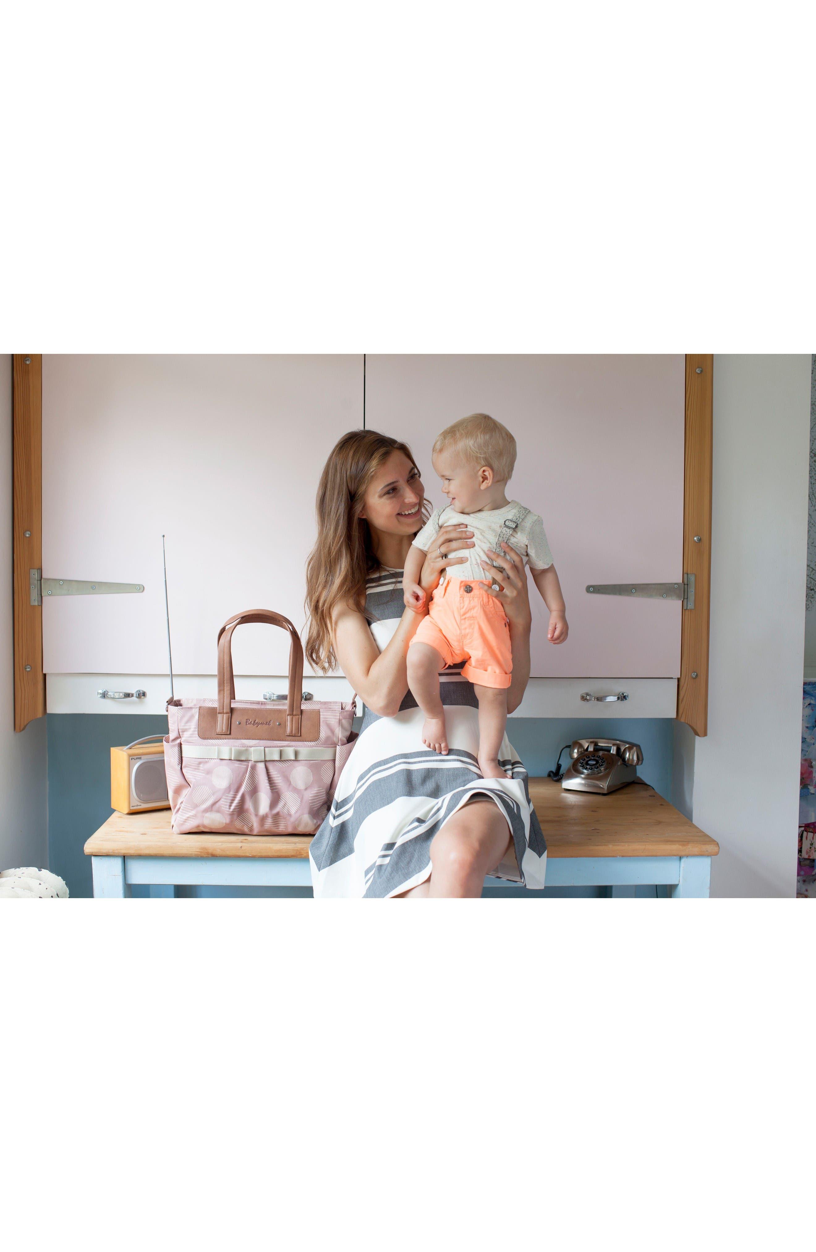 Alternate Image 5  - Babymel 'Cara' Diaper Bag