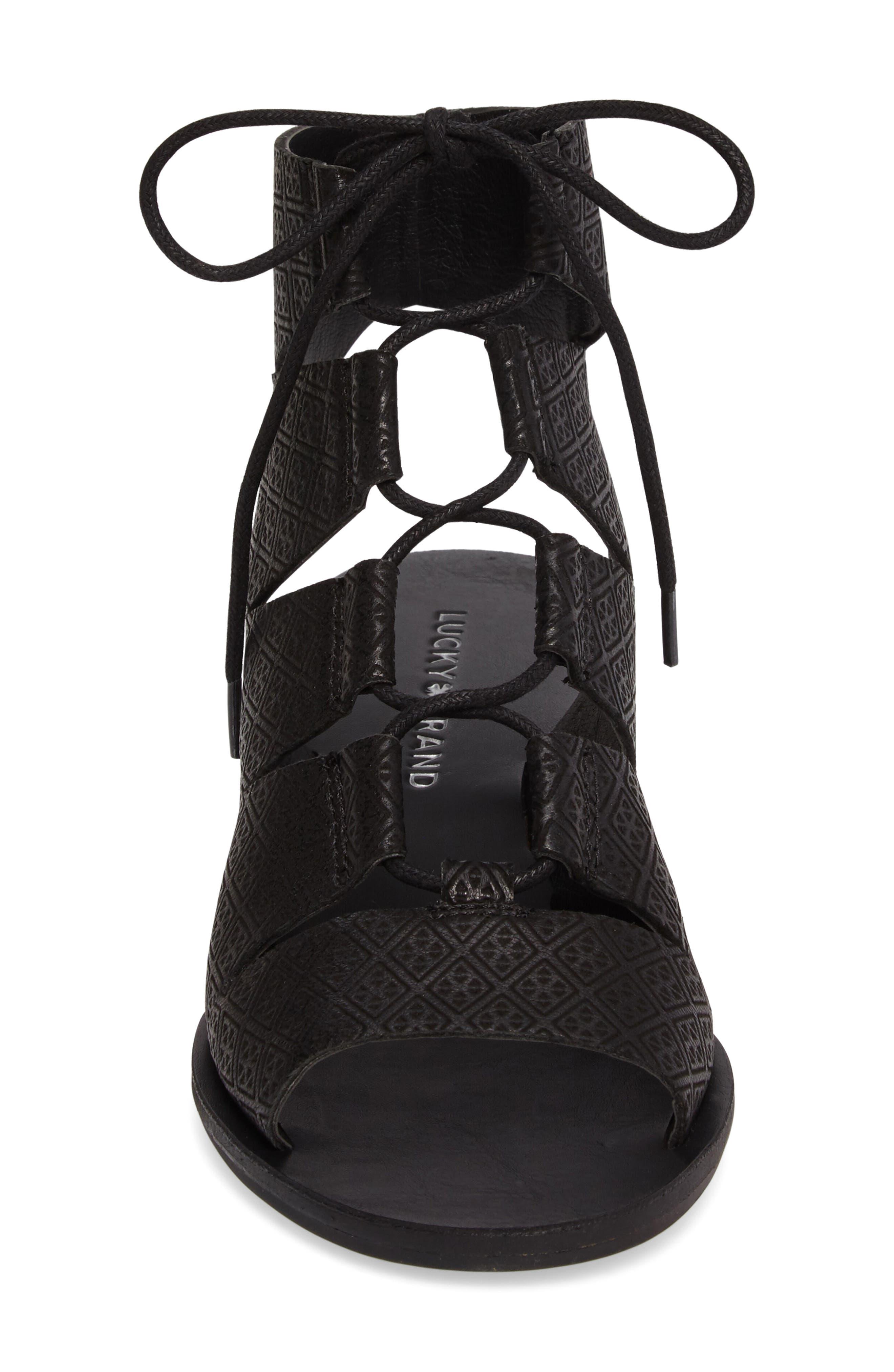 Alternate Image 4  - Lucky Brand Gizi Wedge Sandal (Women)