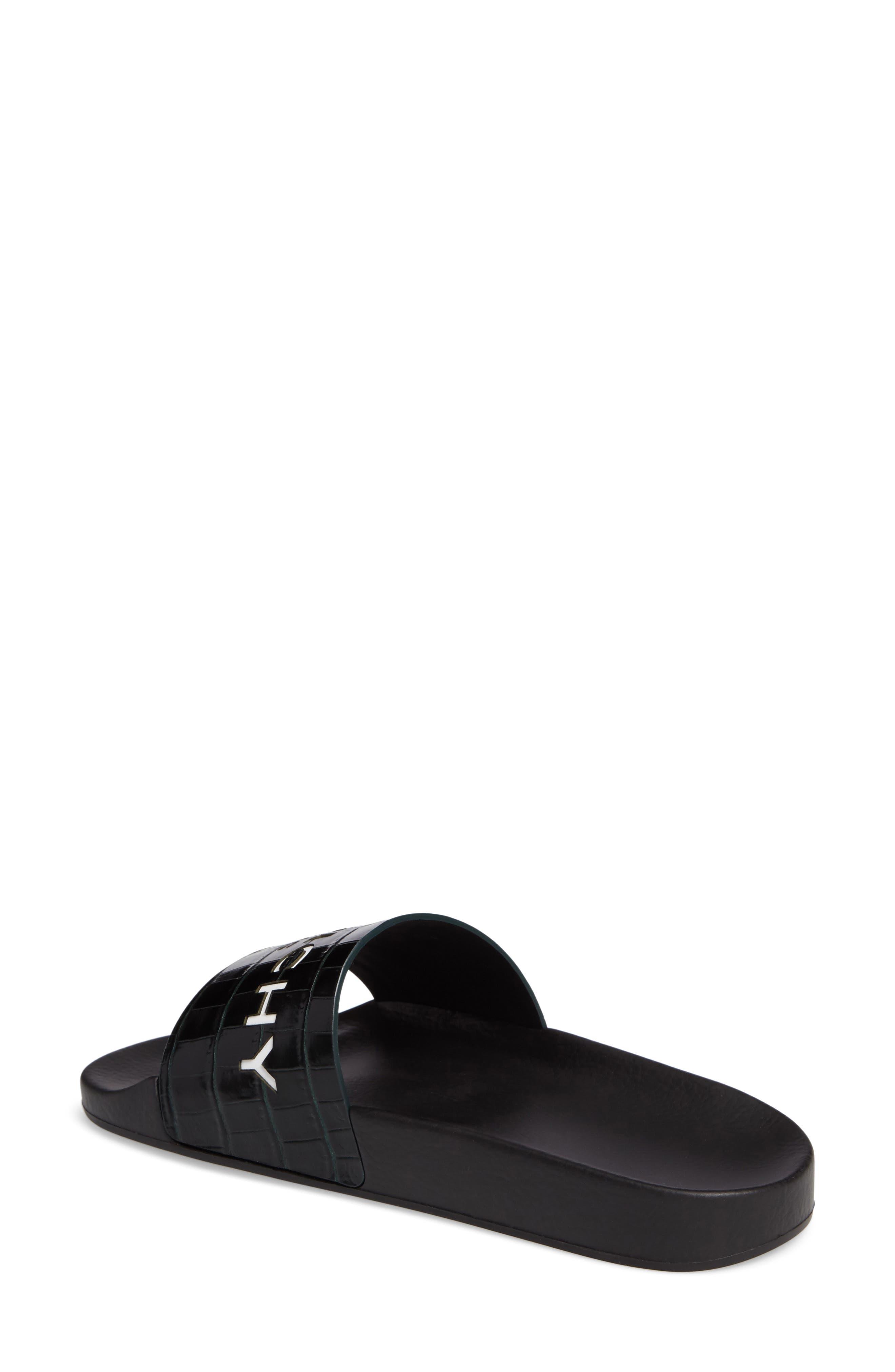 Alternate Image 2  - Givenchy Logo Slide Sandal (Women)