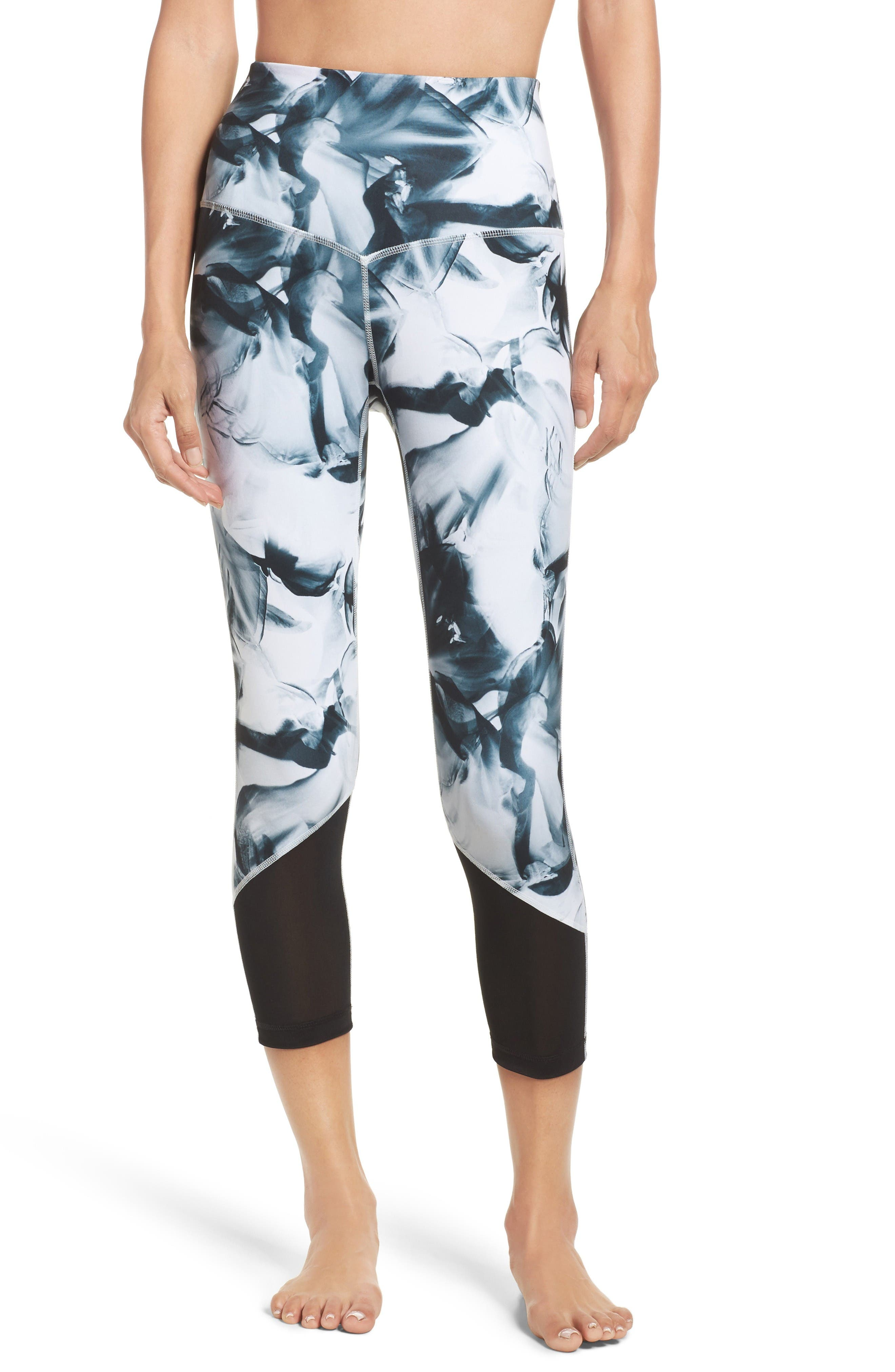 Zella Gemini High Waist Crop Leggings