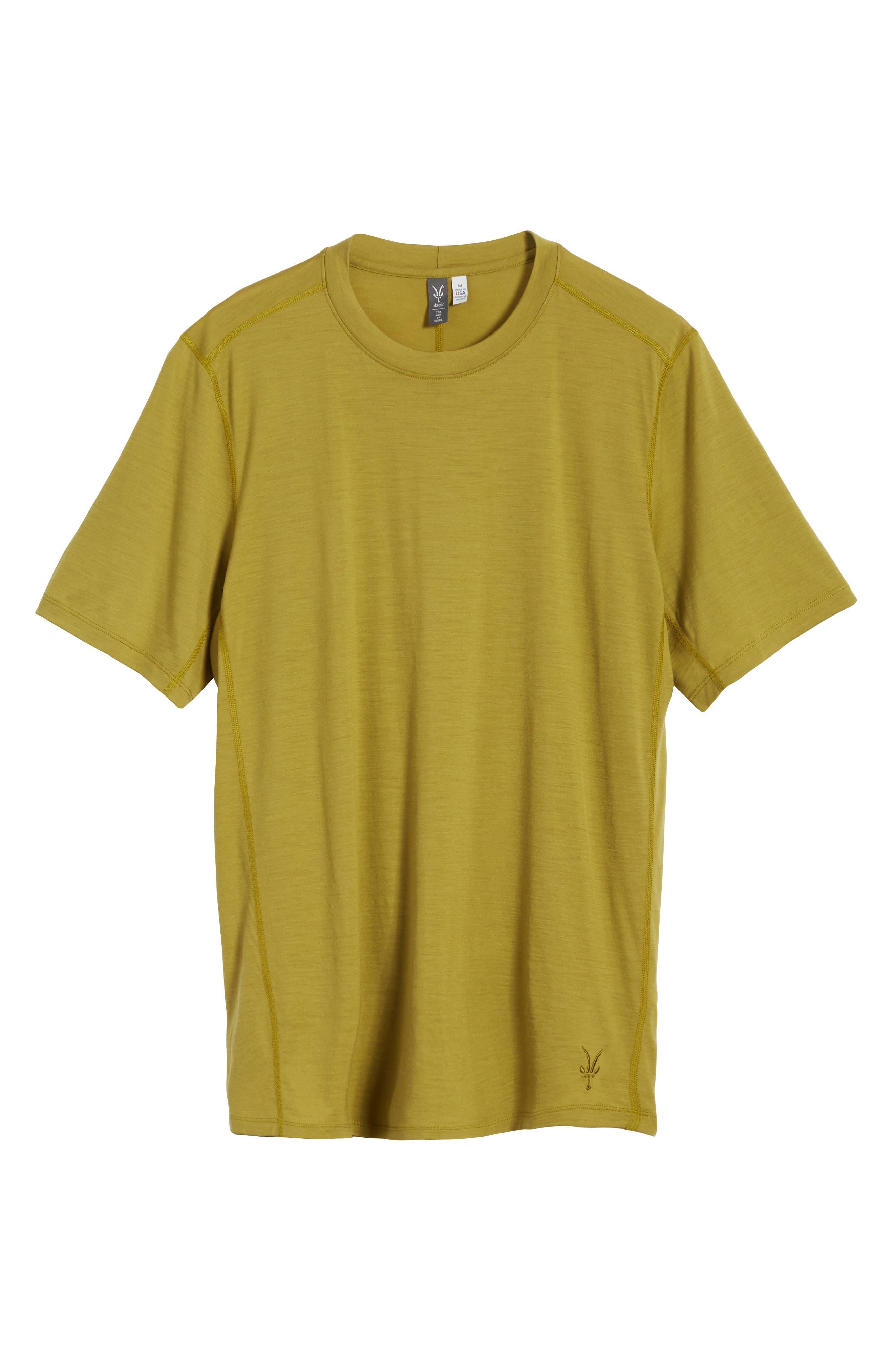 Alternate Image 5  - ibex 'All Day Weightless Wool Blend' T-Shirt