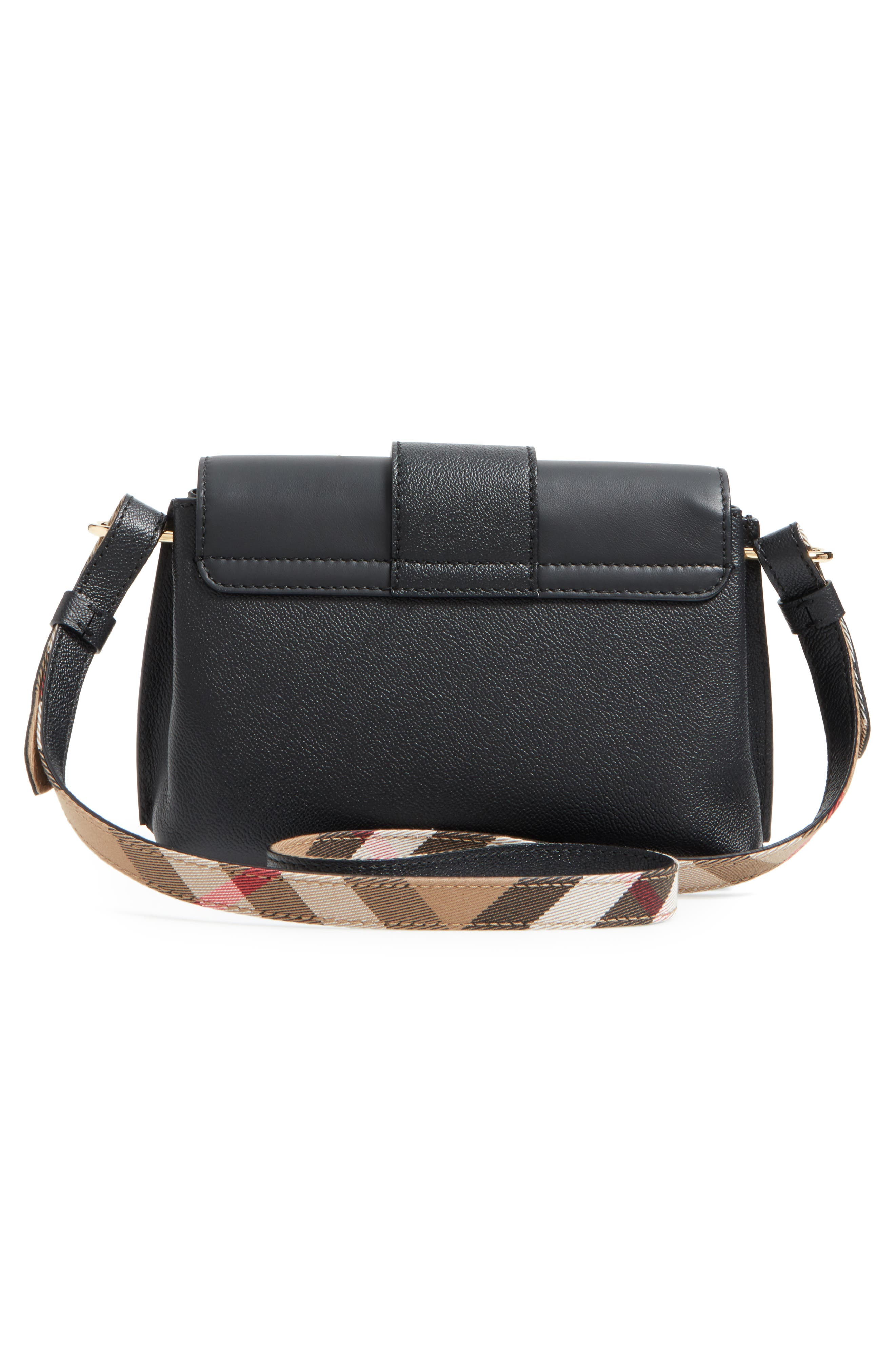 Alternate Image 3  - Burberry Small Medley Leather Crossbody Bag