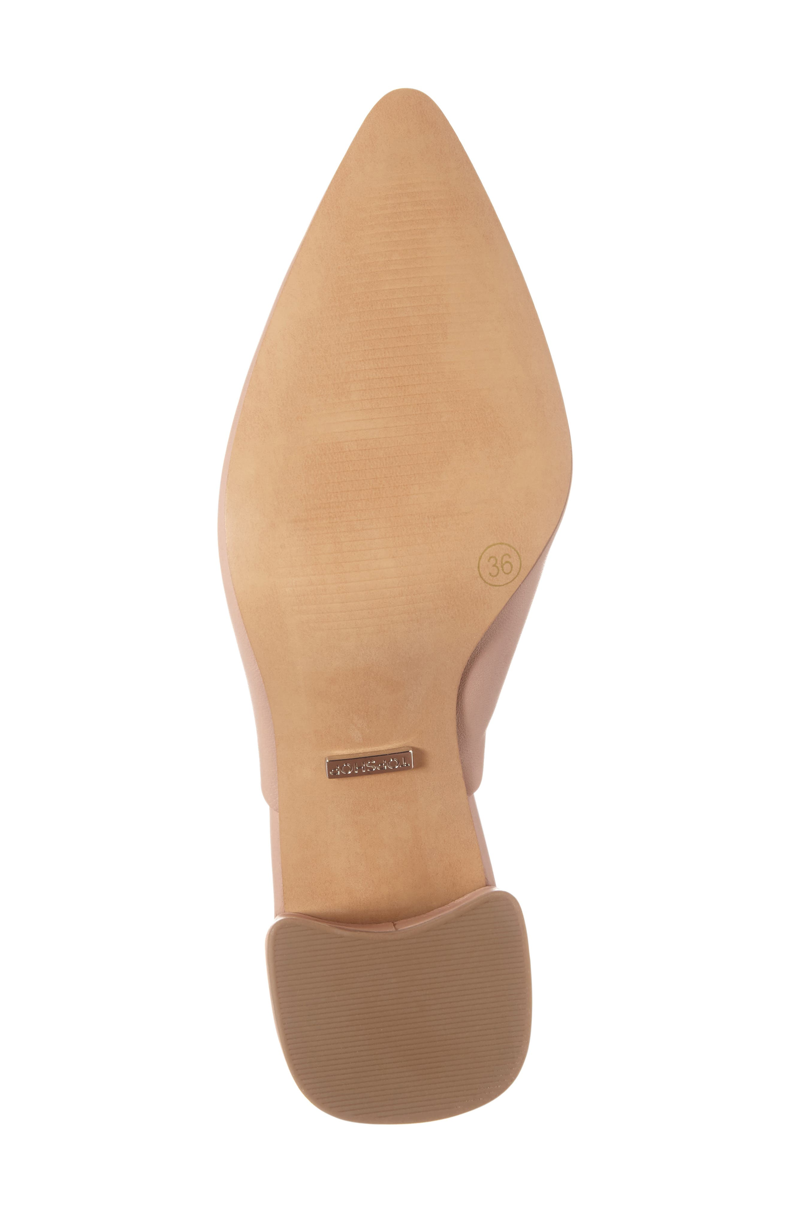 Alternate Image 6  - Topshop Groove Block Heel Pump (Women)