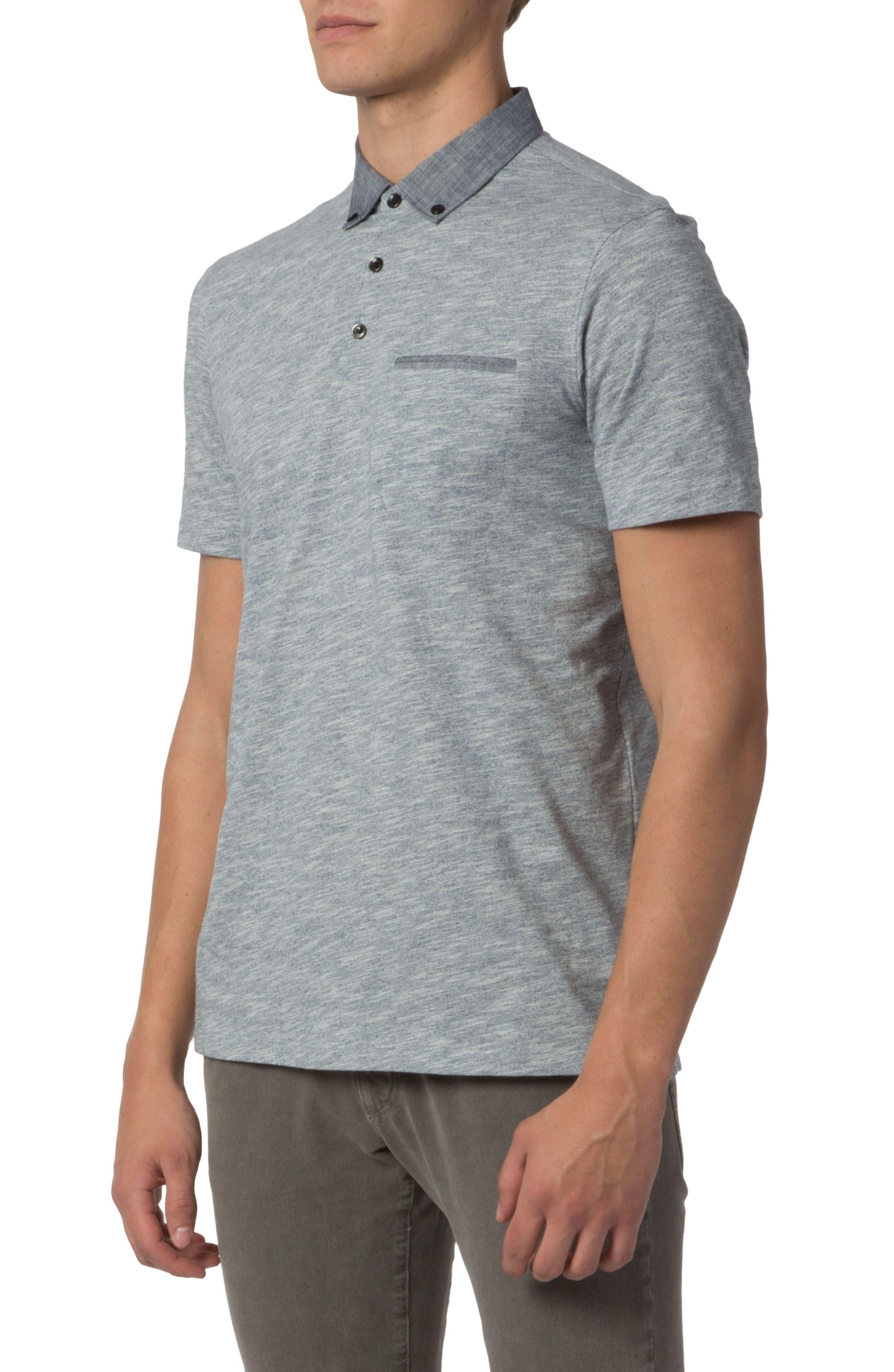 Alternate Image 4  - Good Man Brand Heathered Stripe Polo