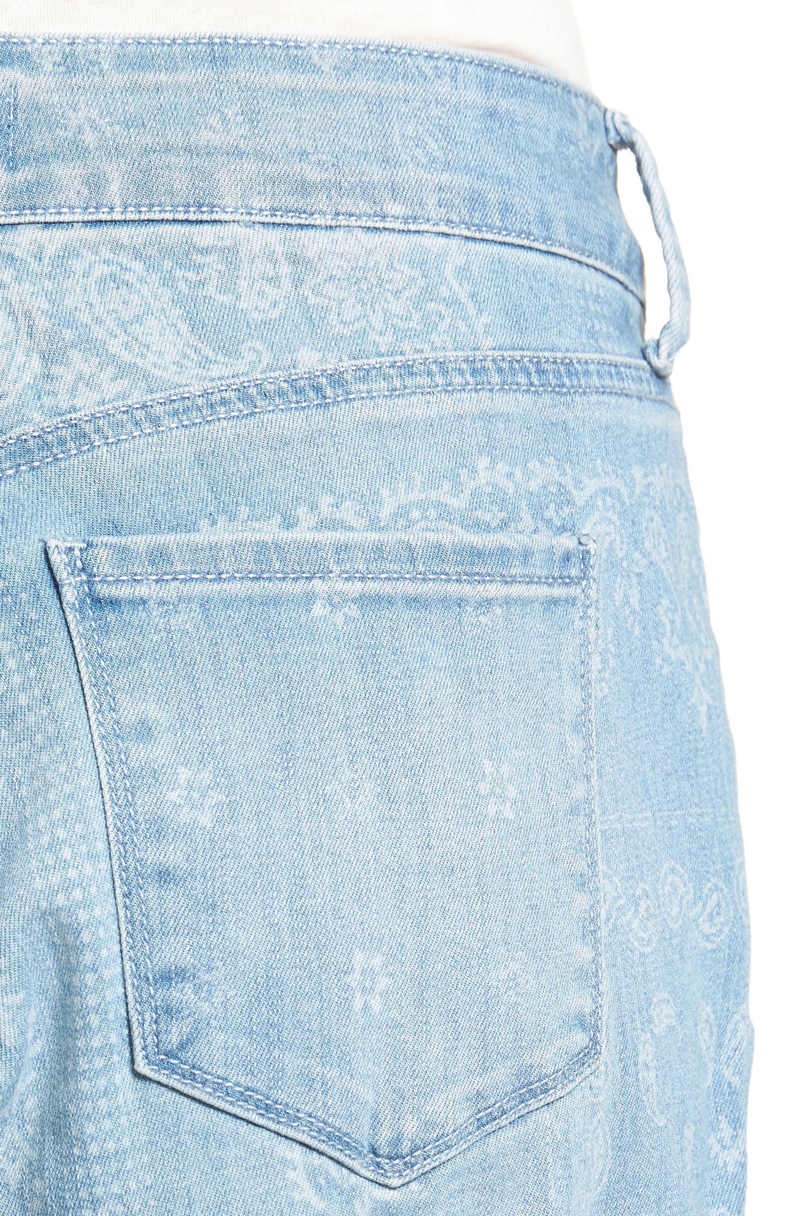 Alternate Image 4  - NYDJ Jessica Print Relaxed Boyfriend Jeans (Bandana) (Regular & Petite)