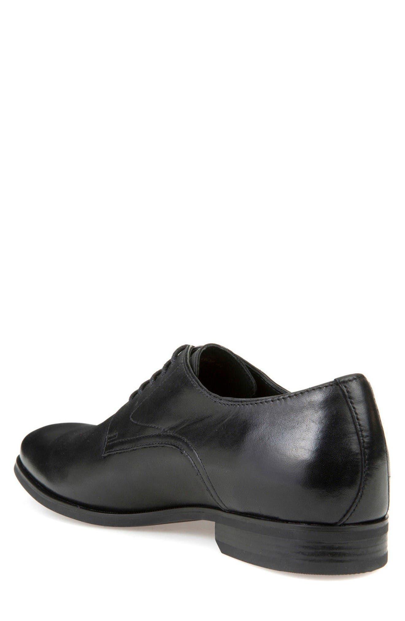 Alternate Image 2  - Geox Albert 2Fit5 Plain Toe Derby (Men)