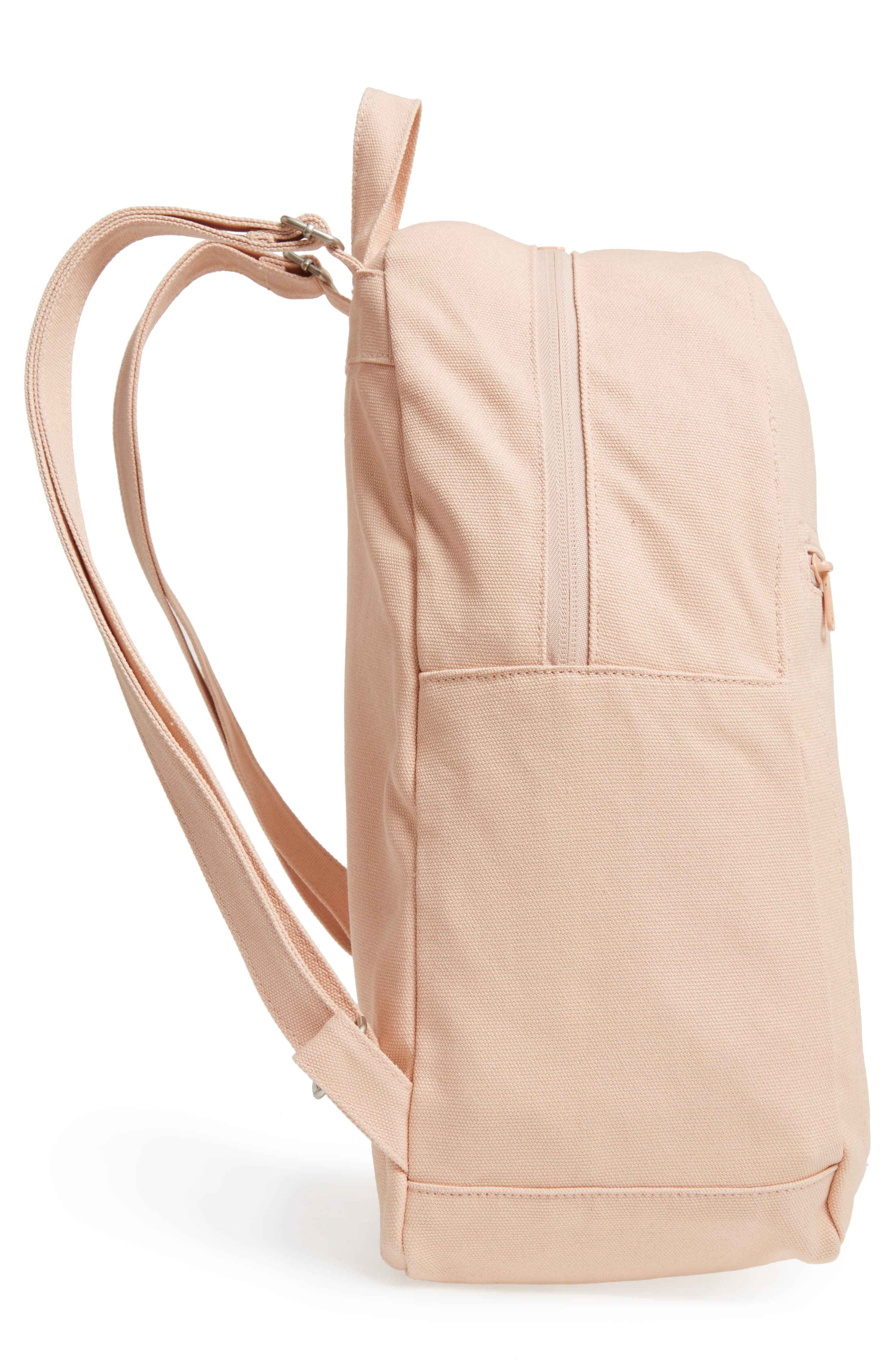 Canvas Backpack,                             Alternate thumbnail 5, color,                             Shell