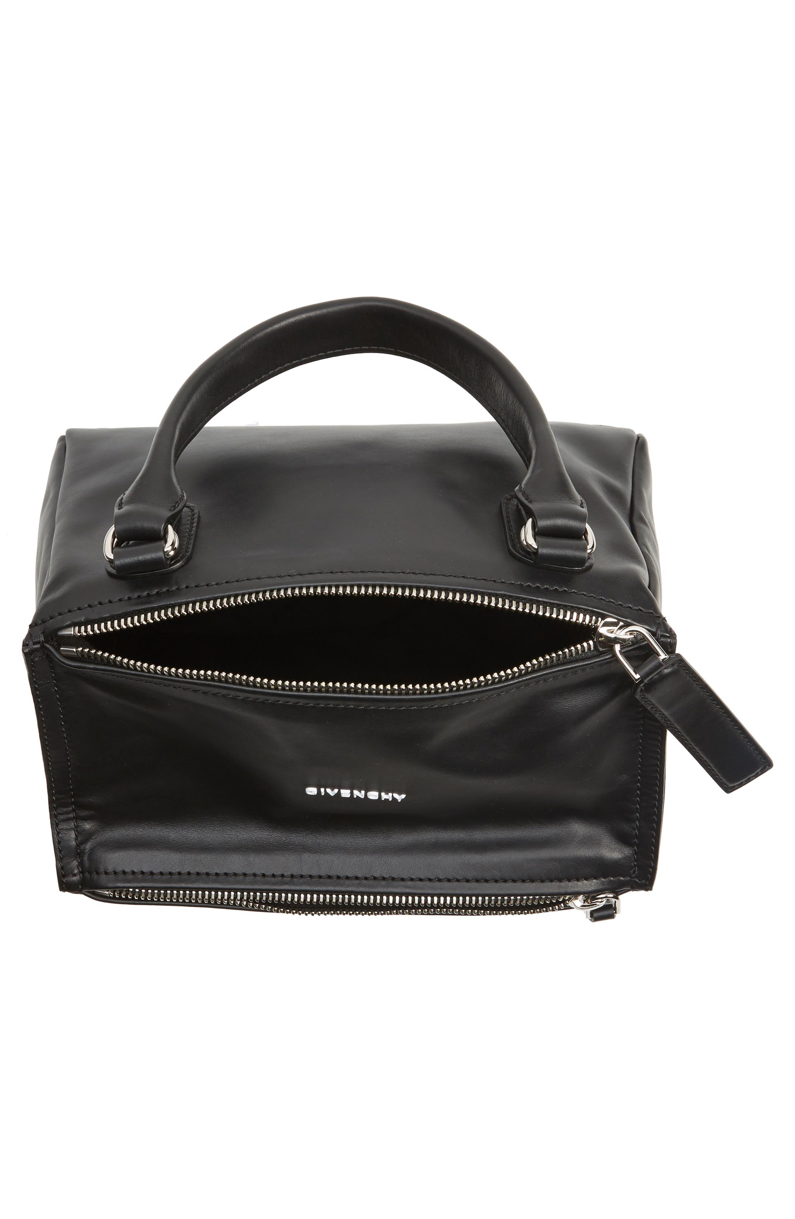 Alternate Image 4  - Givenchy Small Pandora - Logo Leather Satchel