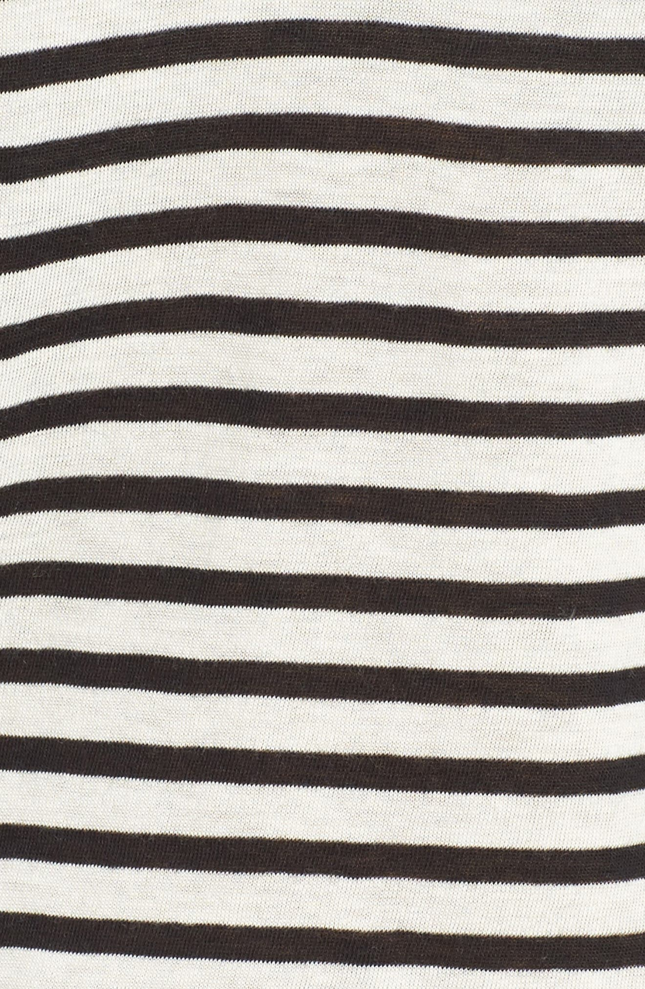 Alternate Image 5  - AG Kiara Stripe Tee
