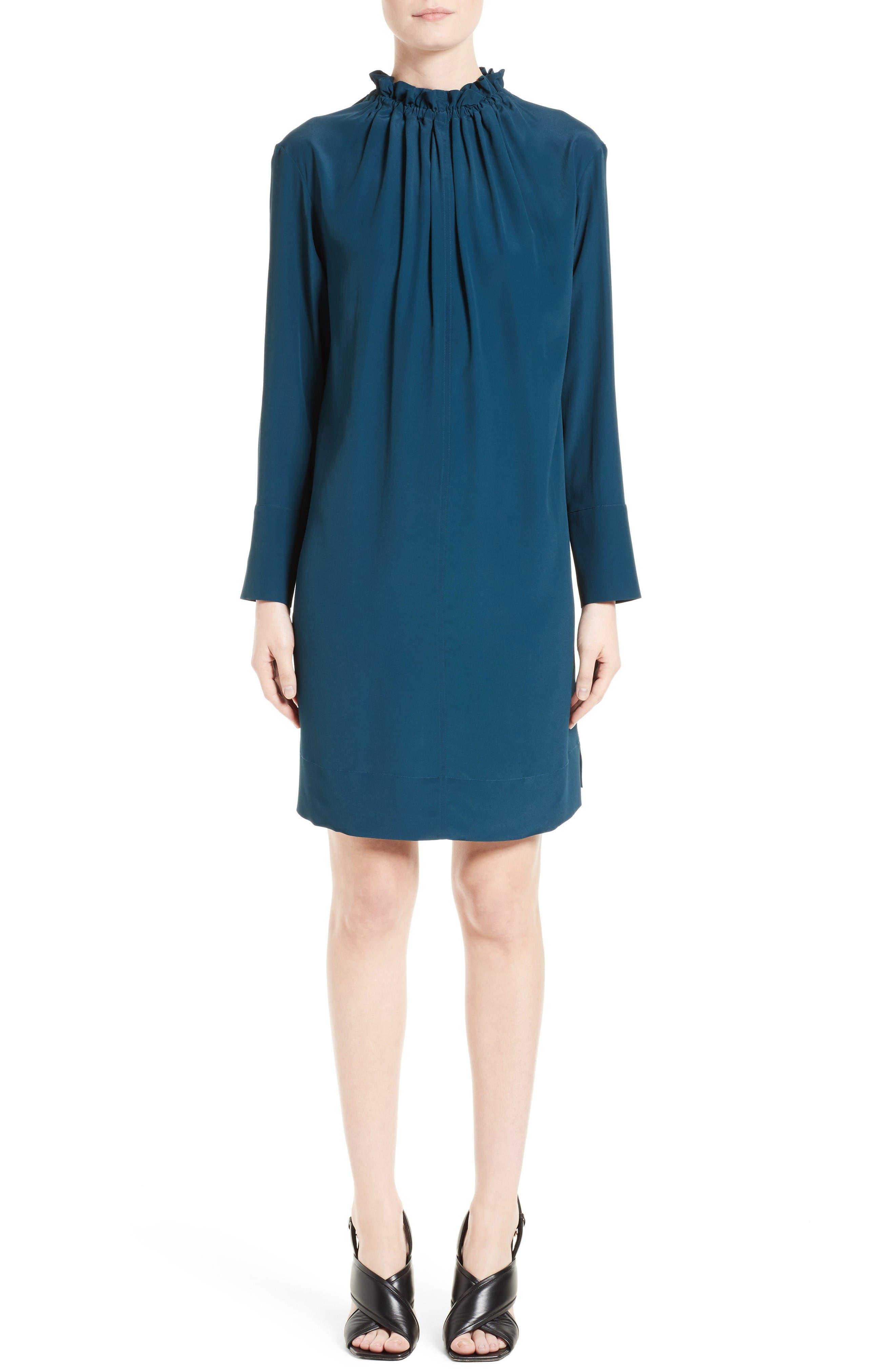 Marni Gathered Neck Dress