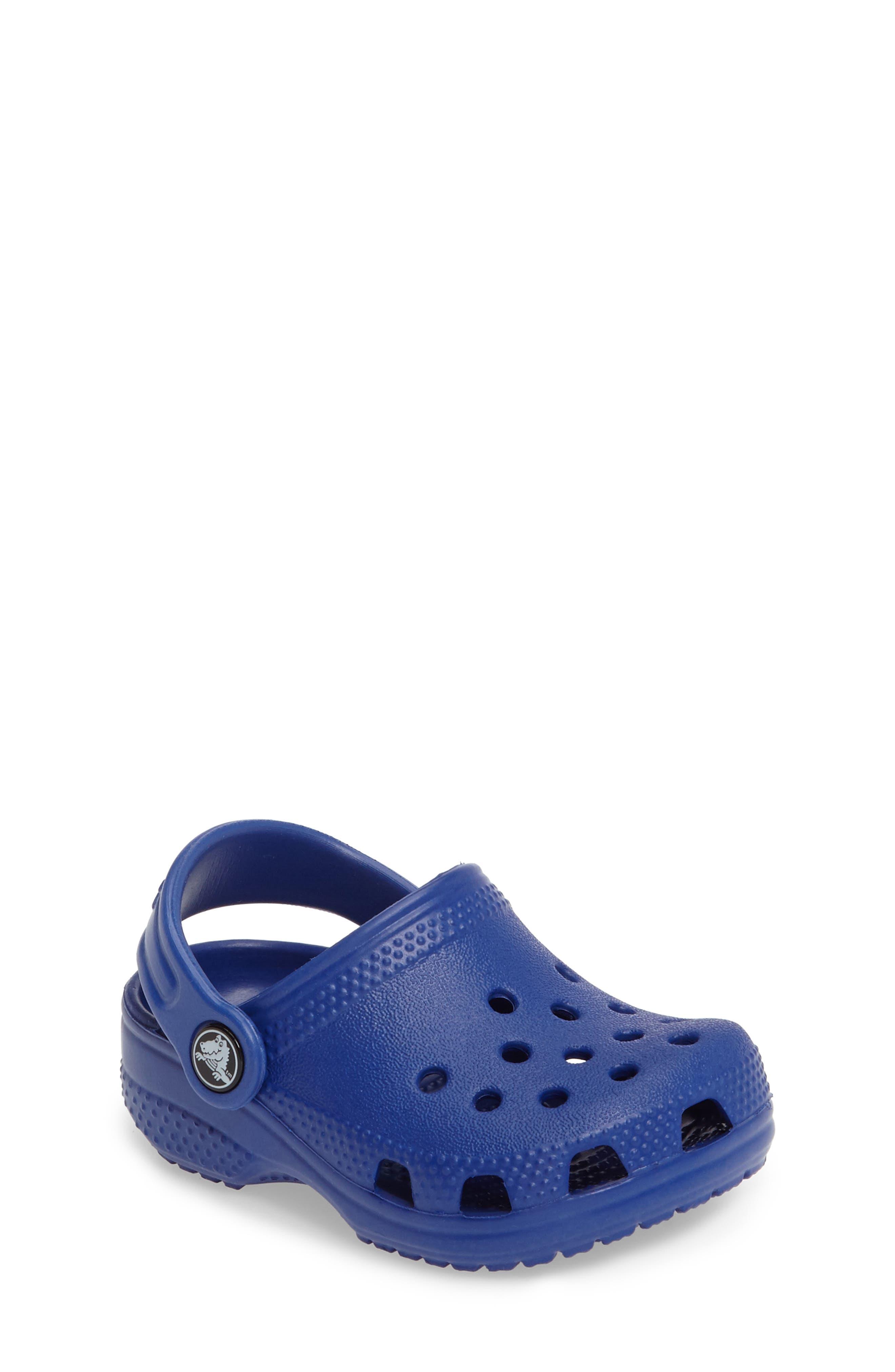 'Littles' Slip-On,                         Main,                         color, Cerulean Blue