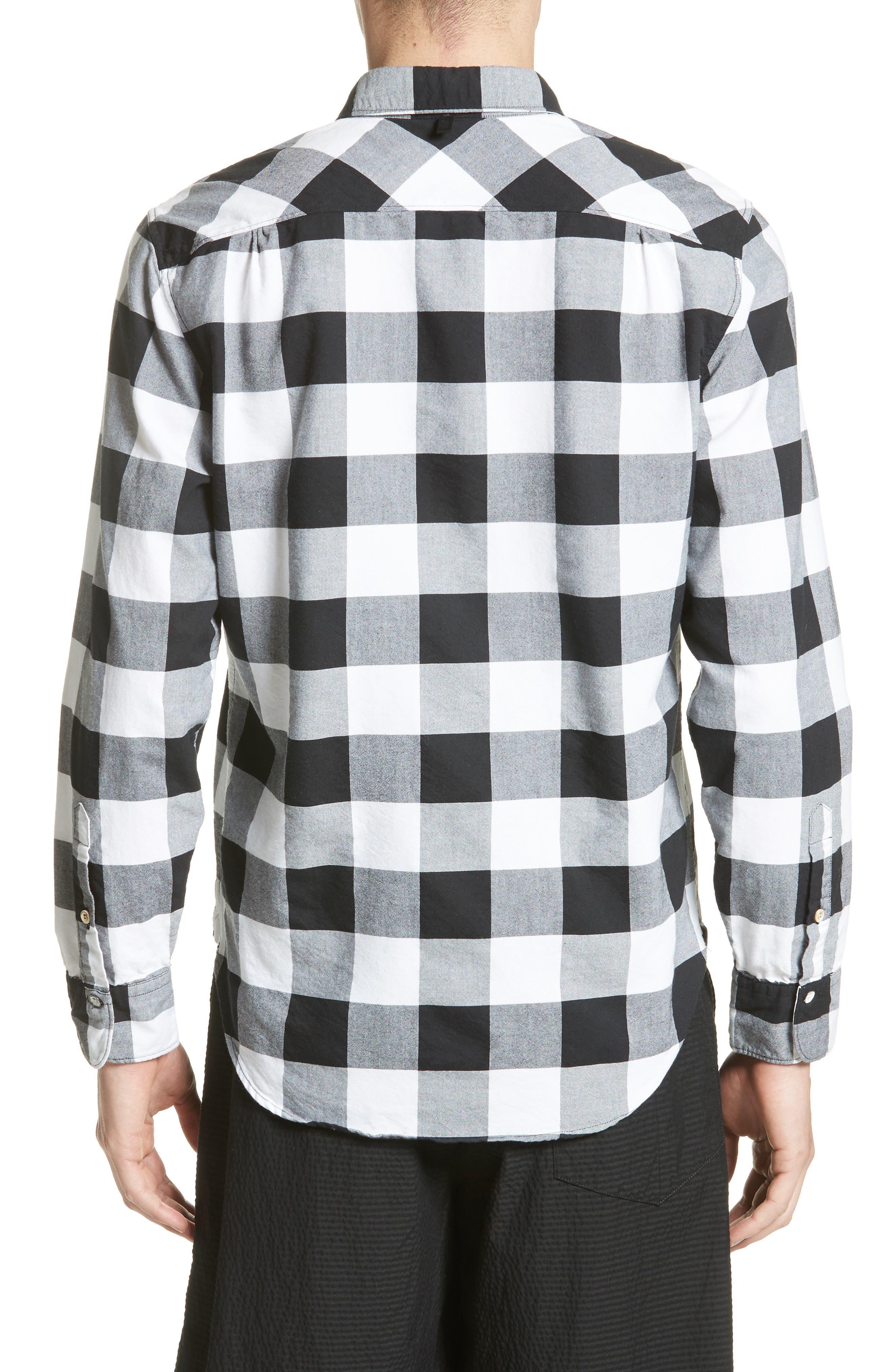 Alternate Image 2  - rag & bone Beach Trim Fit Large Check Sport Shirt
