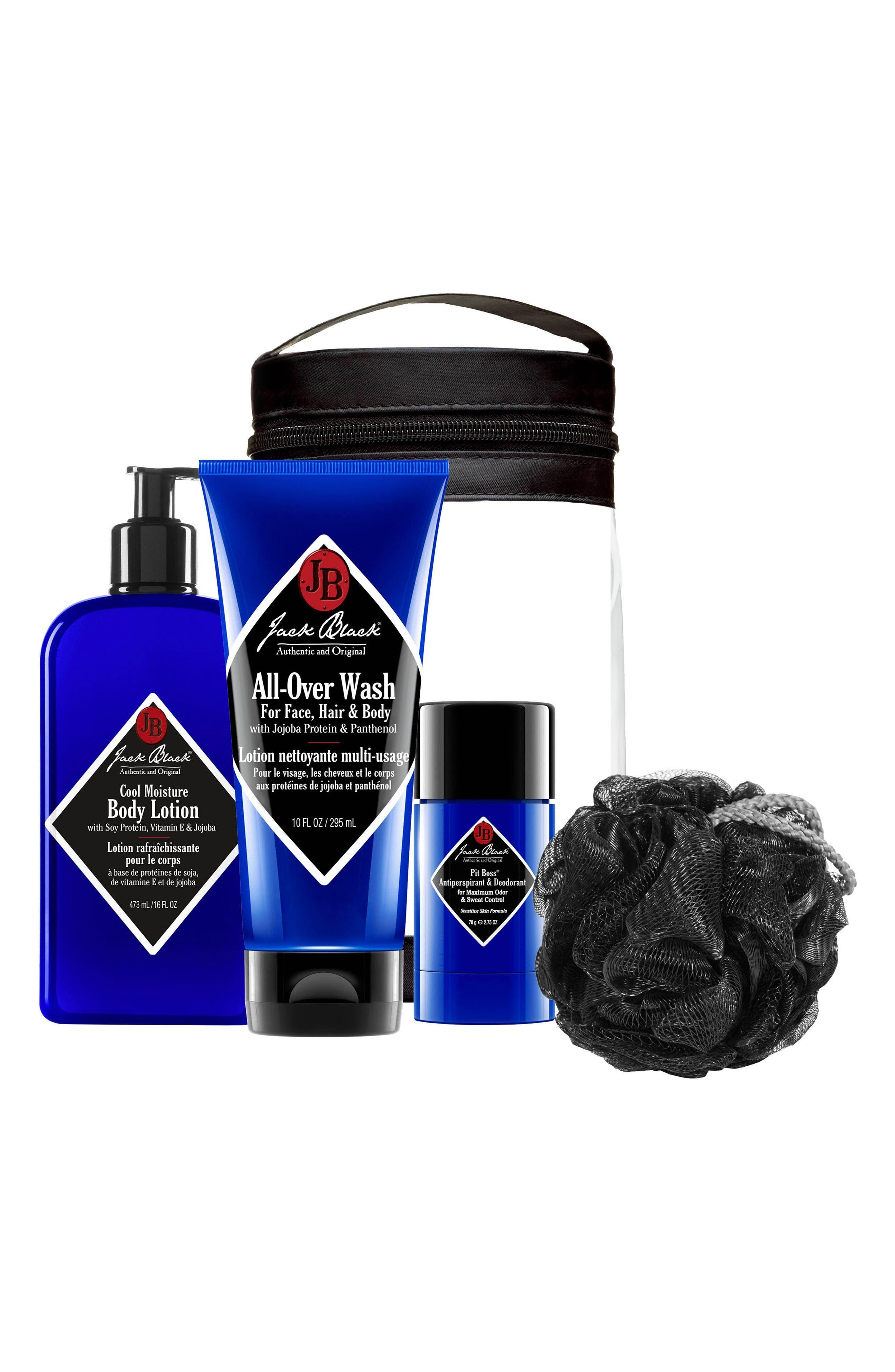 Jack Black Clean & Cool Body Basics Kit ($66 Value)