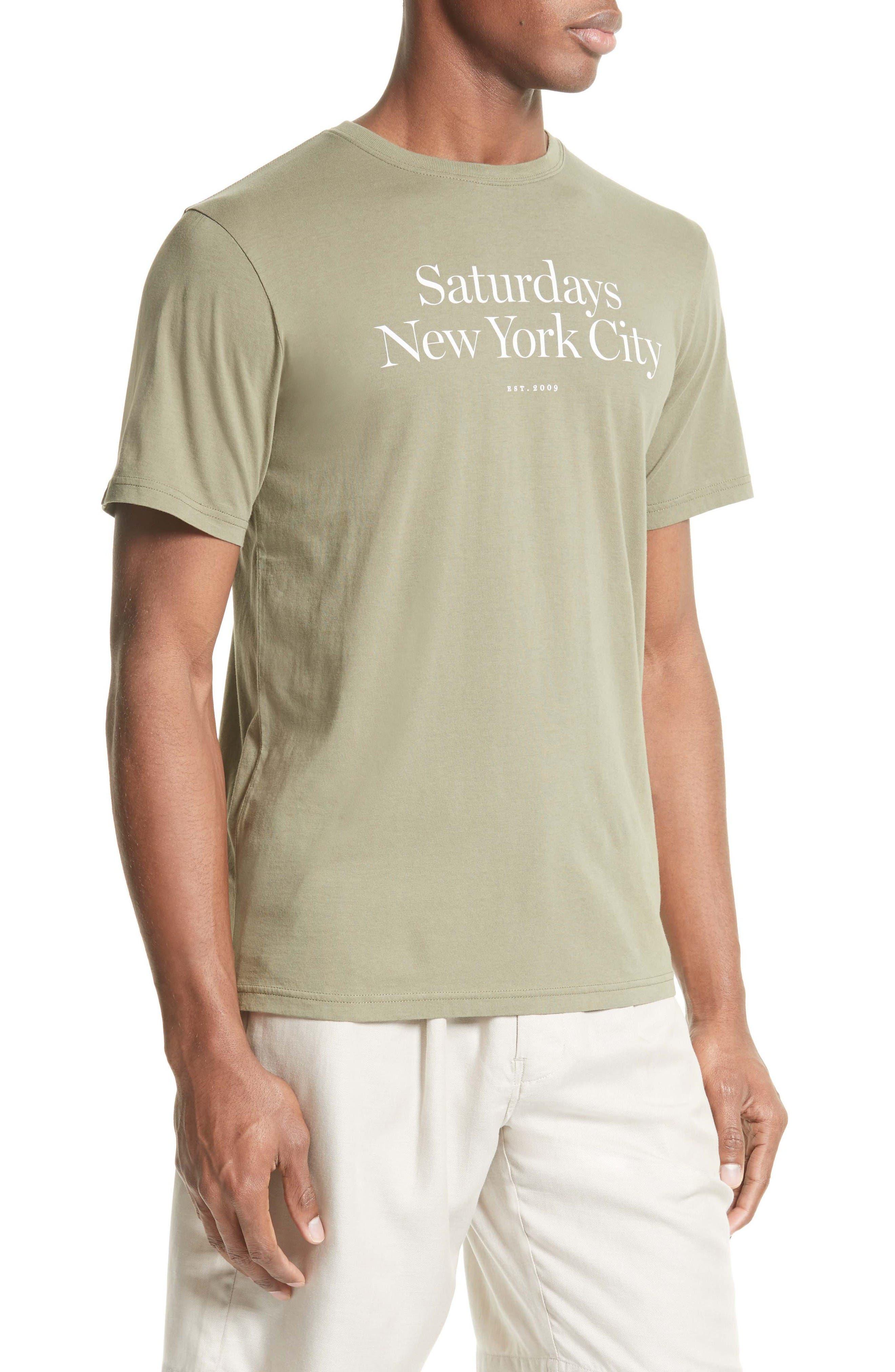 Alternate Image 3  - Saturdays NYC Miller T-Shirt