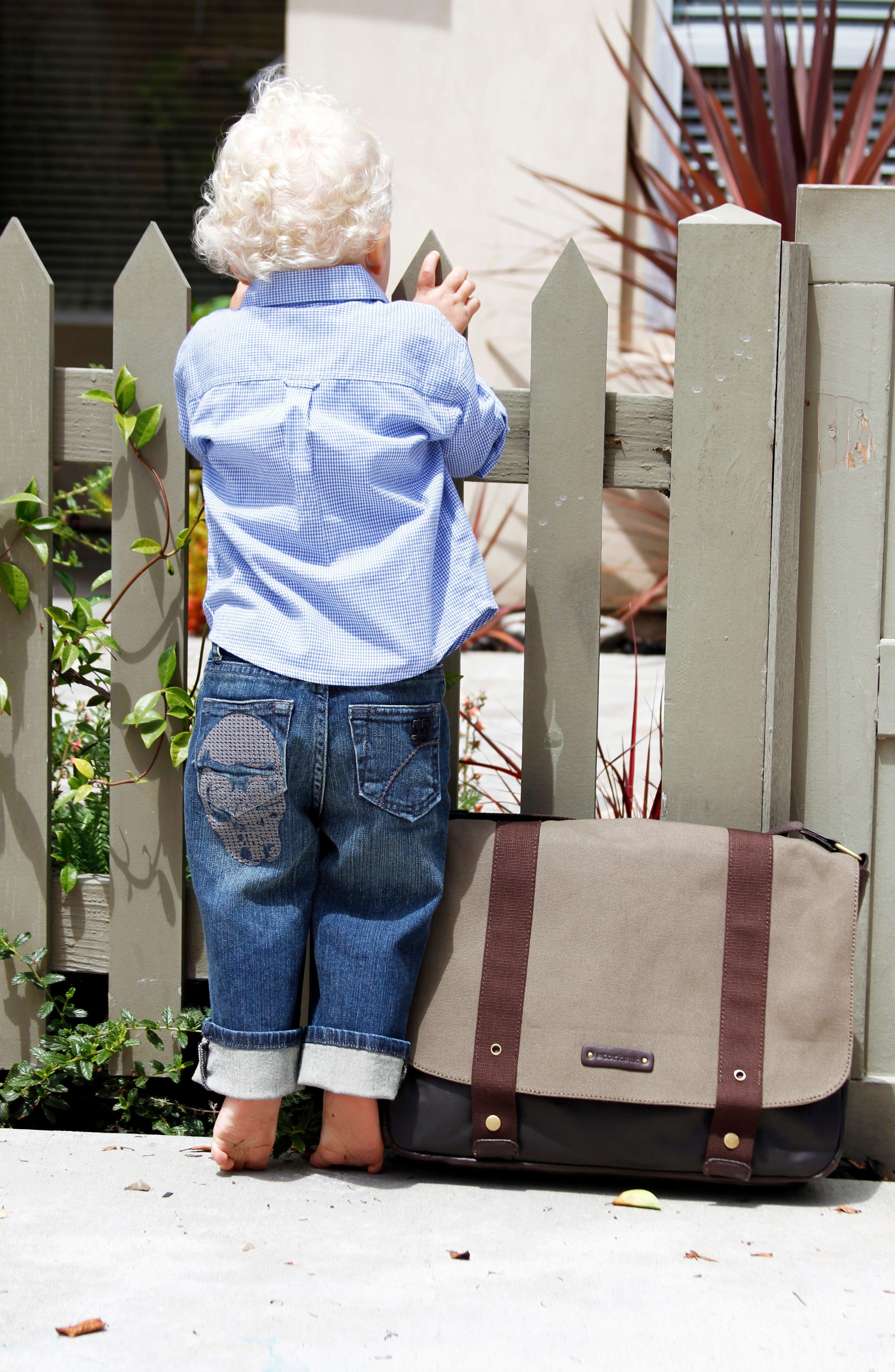 Alternate Image 3  - Storksak 'Aubrey' Diaper Bag