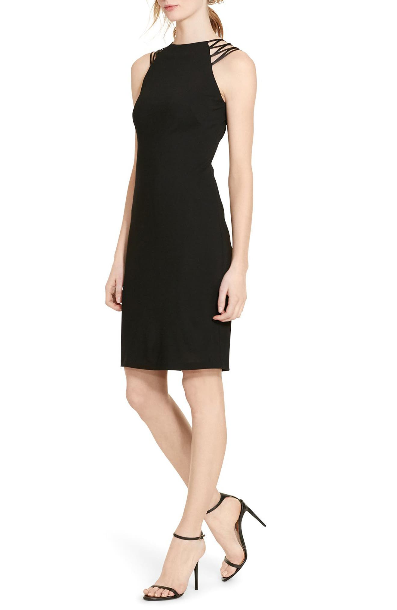 Main Image - Lauren Ralph Lauren Jersey Sheath Dress