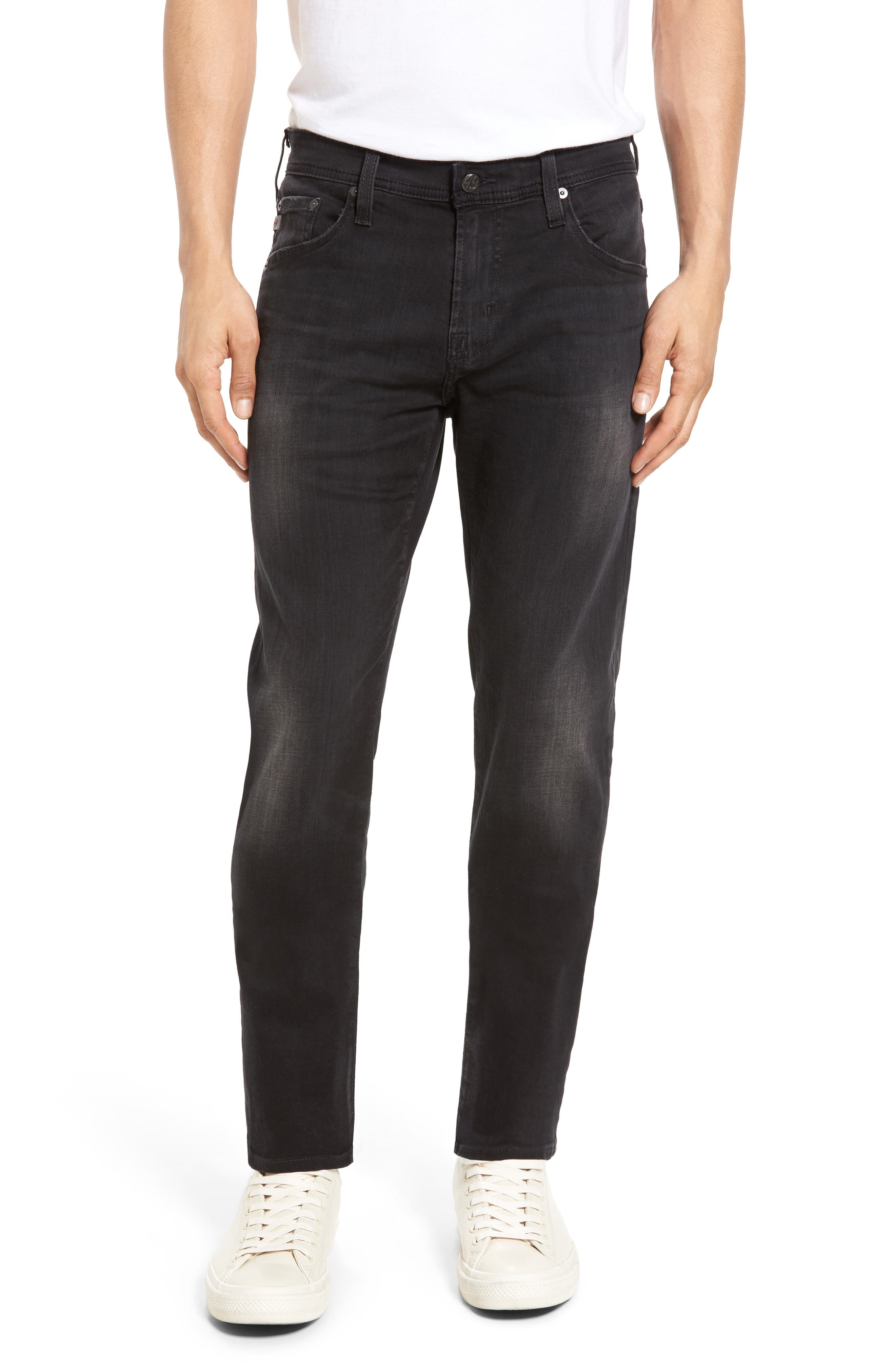 Main Image - AG Tellis Slim Fit Jeans (3 Years Cinema)