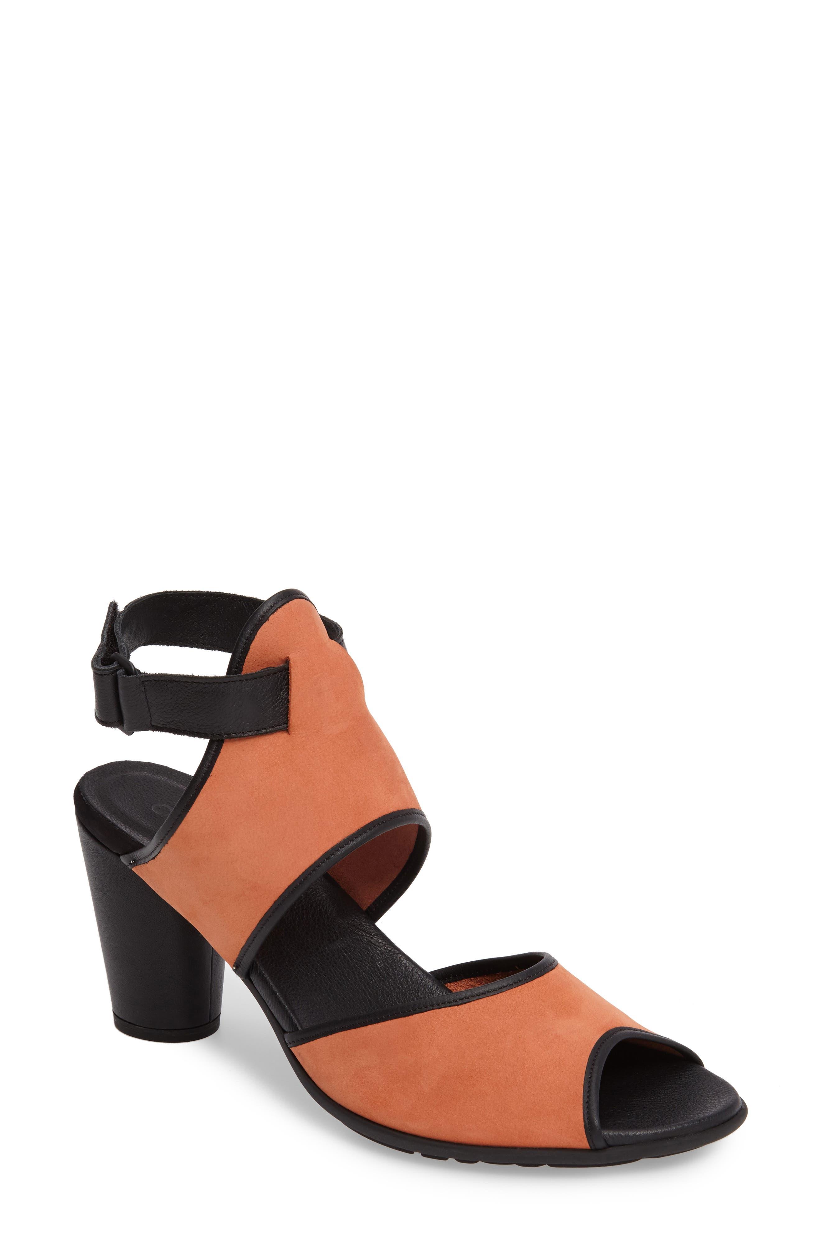 Leiga Sandal,                         Main,                         color, Morgane Nubuck Leather