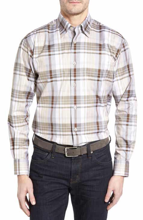 Men S Brown Shirts Nordstrom
