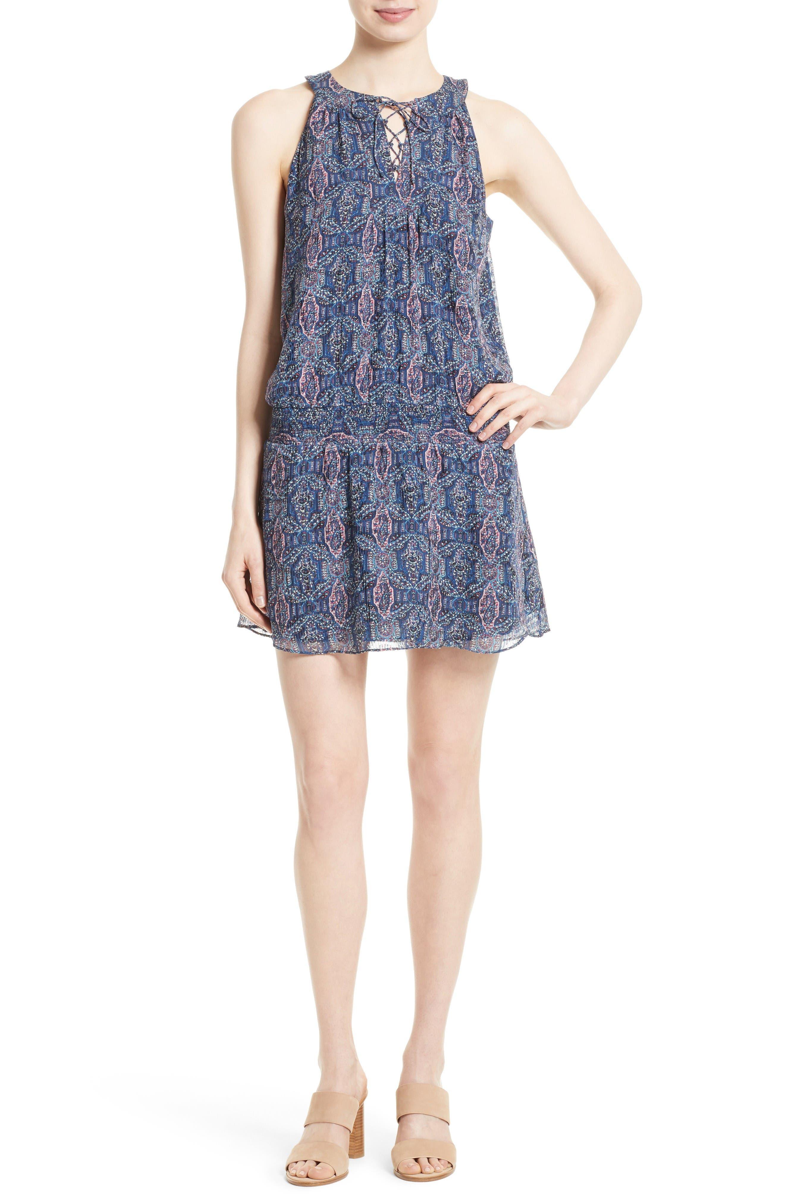 Alternate Image 1 Selected - Joie Juergen Silk Blend A-Line Dress