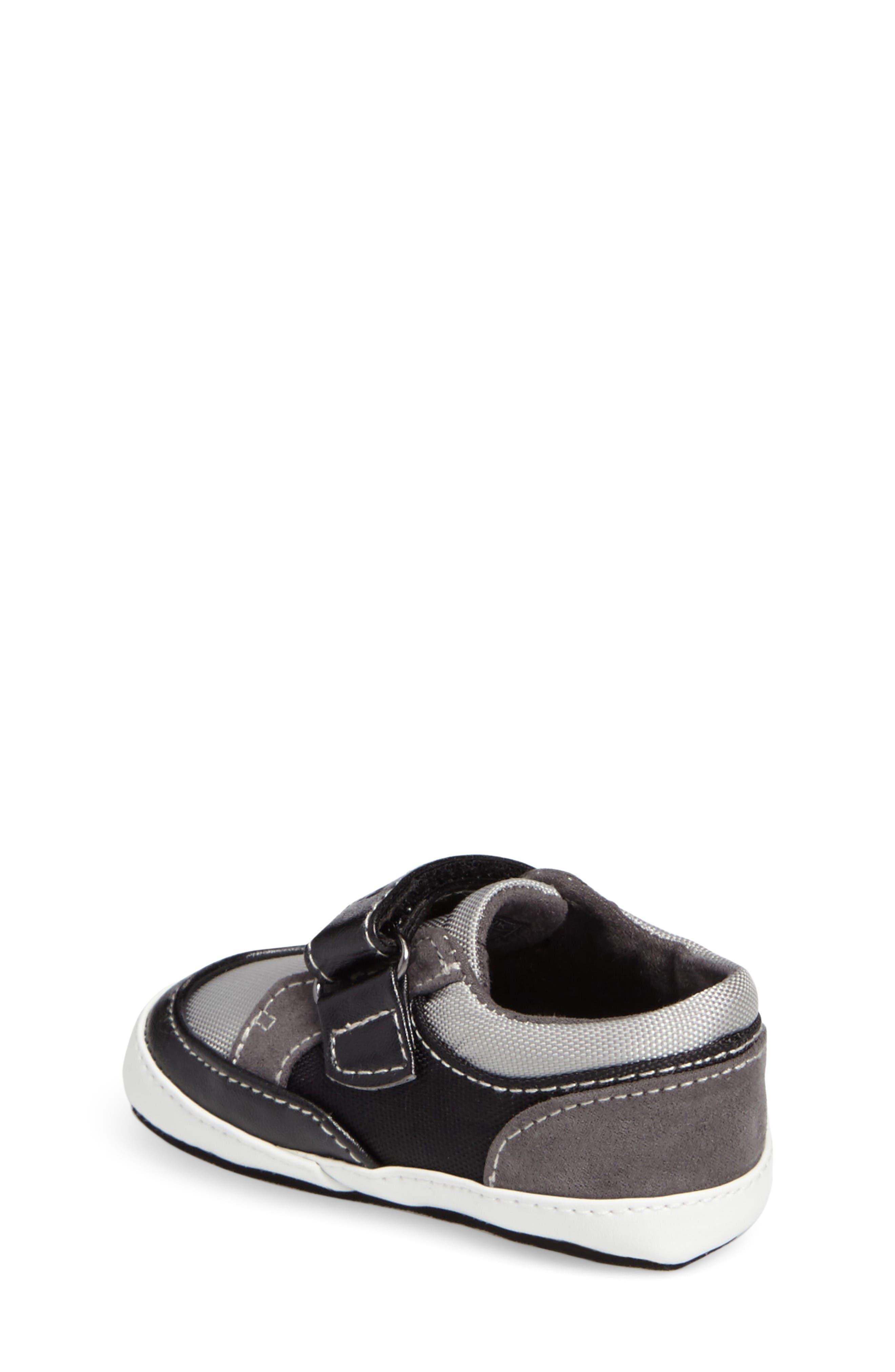 Danny Sneaker,                             Alternate thumbnail 2, color,                             Black/ Grey