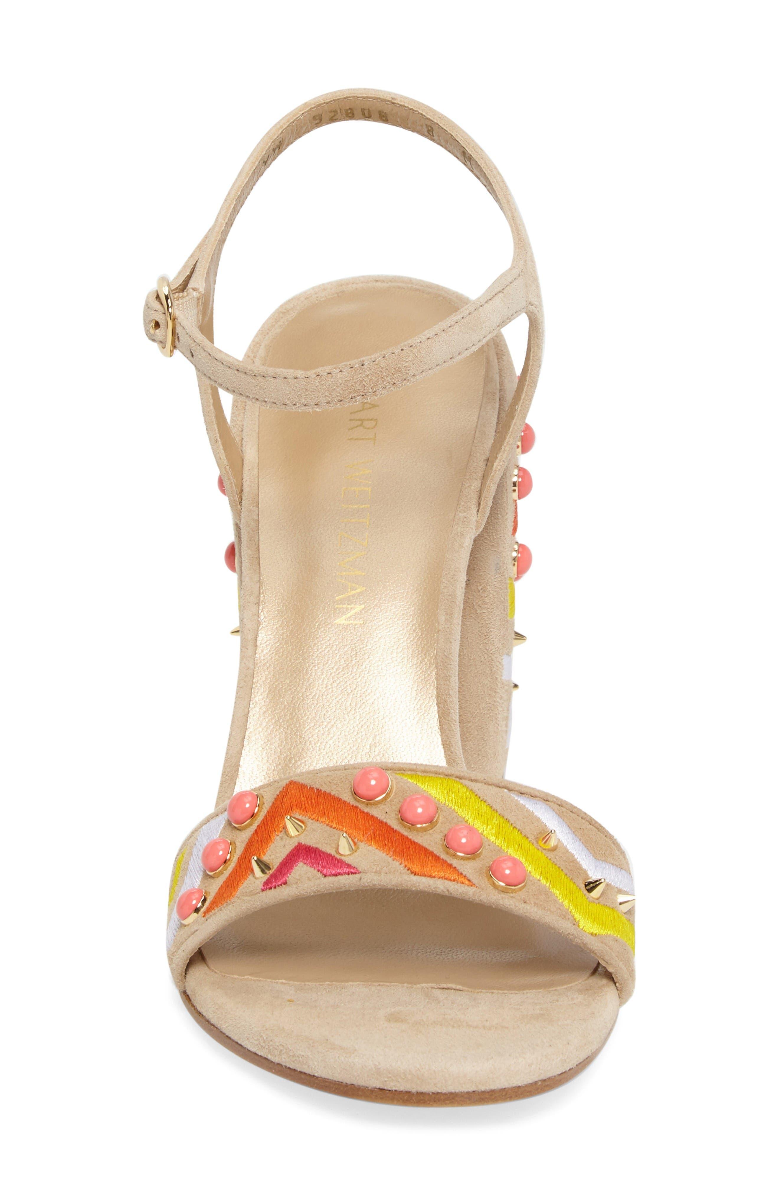 Alternate Image 4  - Stuart Weitzman Both Embellished Sandal (Women)