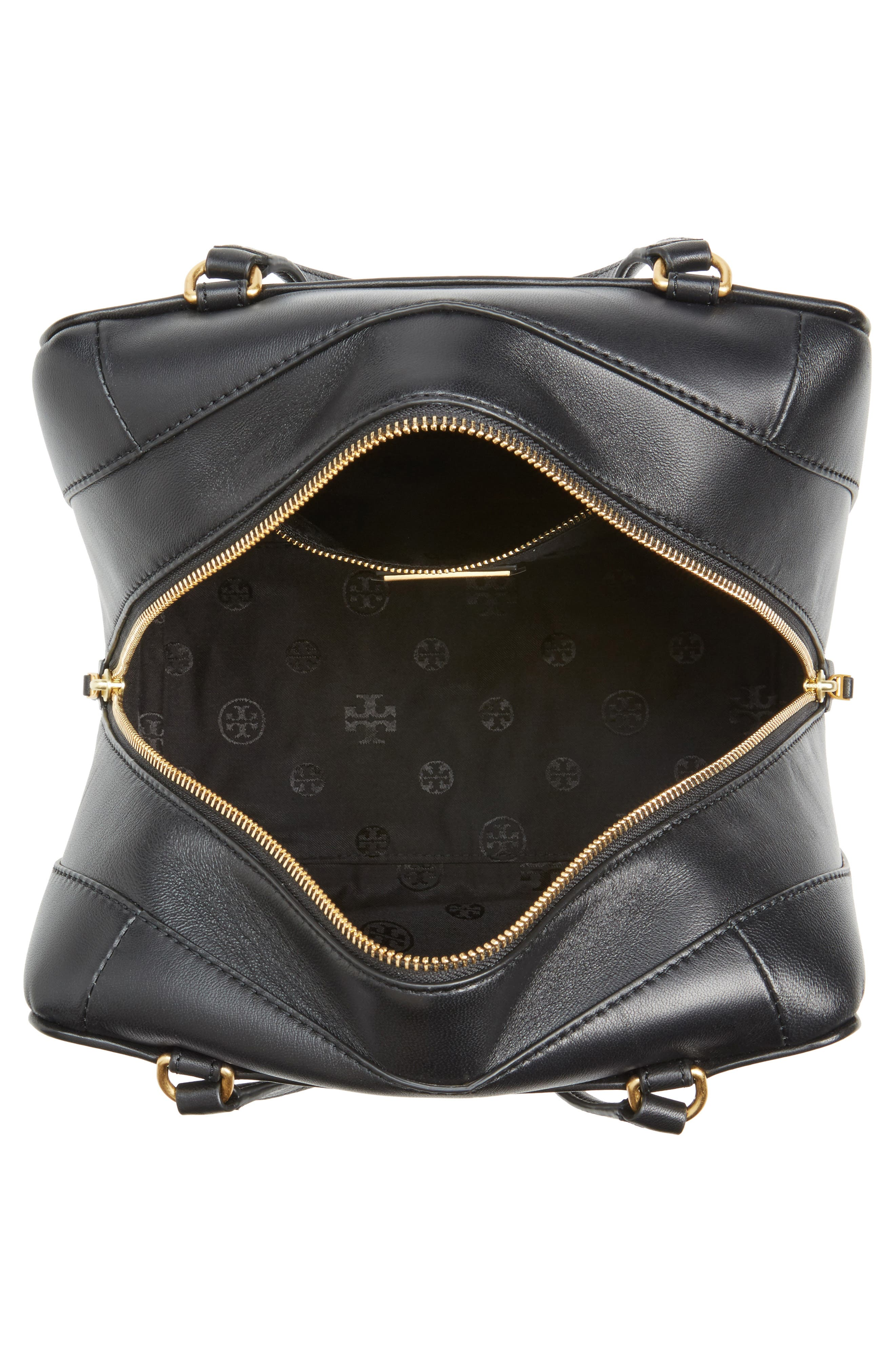 Alternate Image 4  - Tory Burch Chevron Quilted Leather Satchel