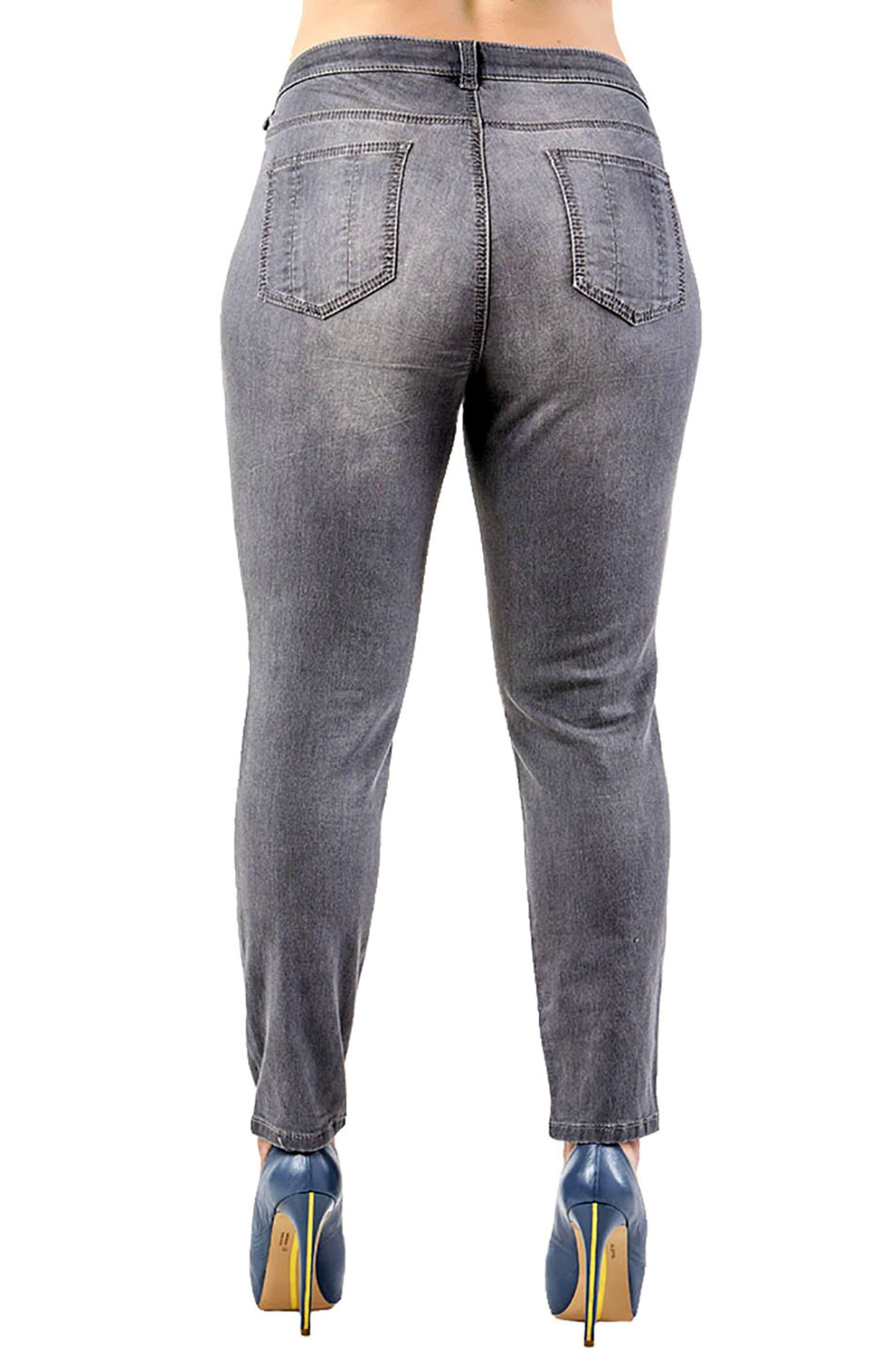 Alternate Image 3  - Standards & Practices Minnie Stretch Denim Skinny Jeans (Plus Size)