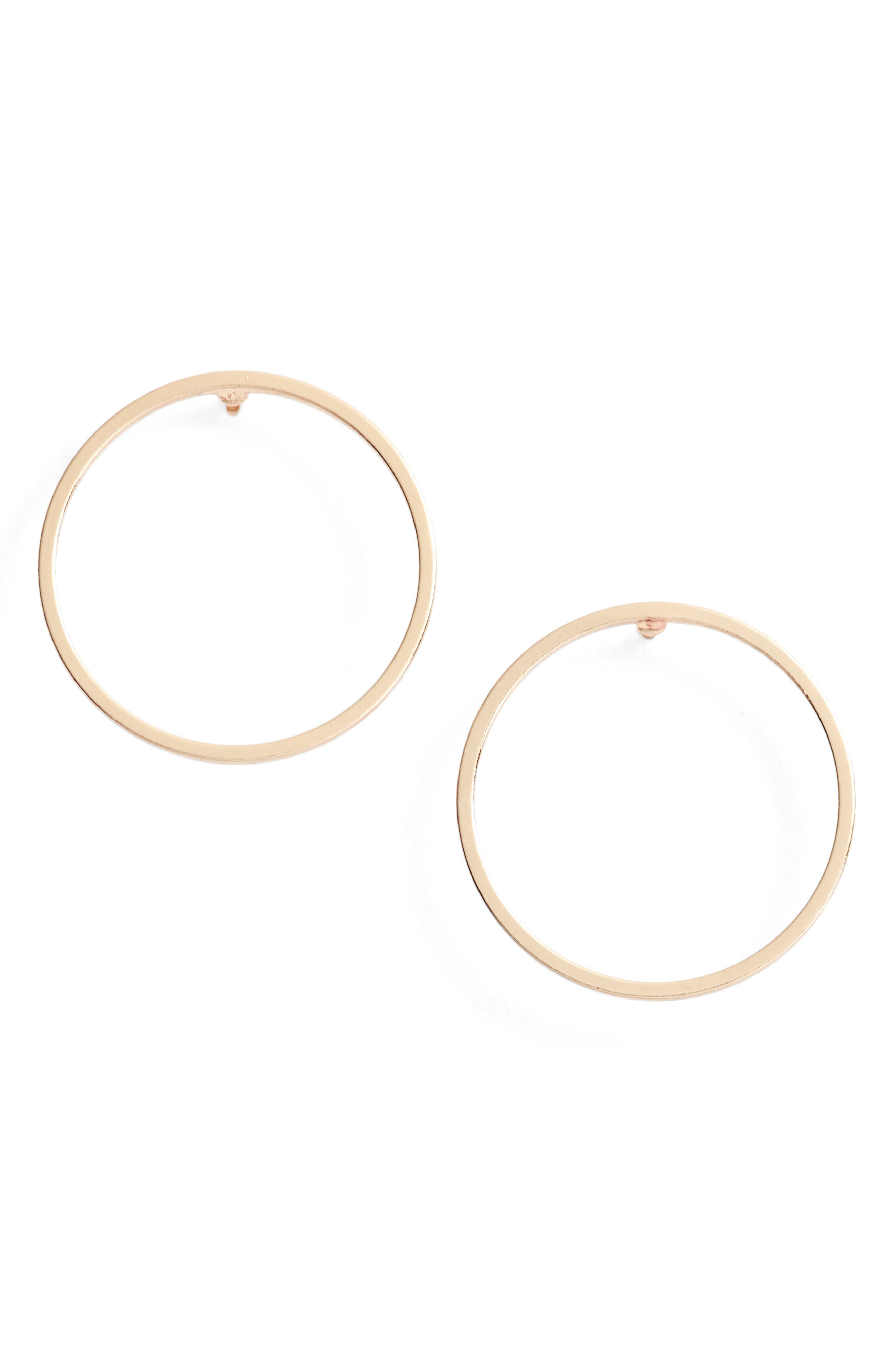 JULES SMITH Juliette Circle Earrings