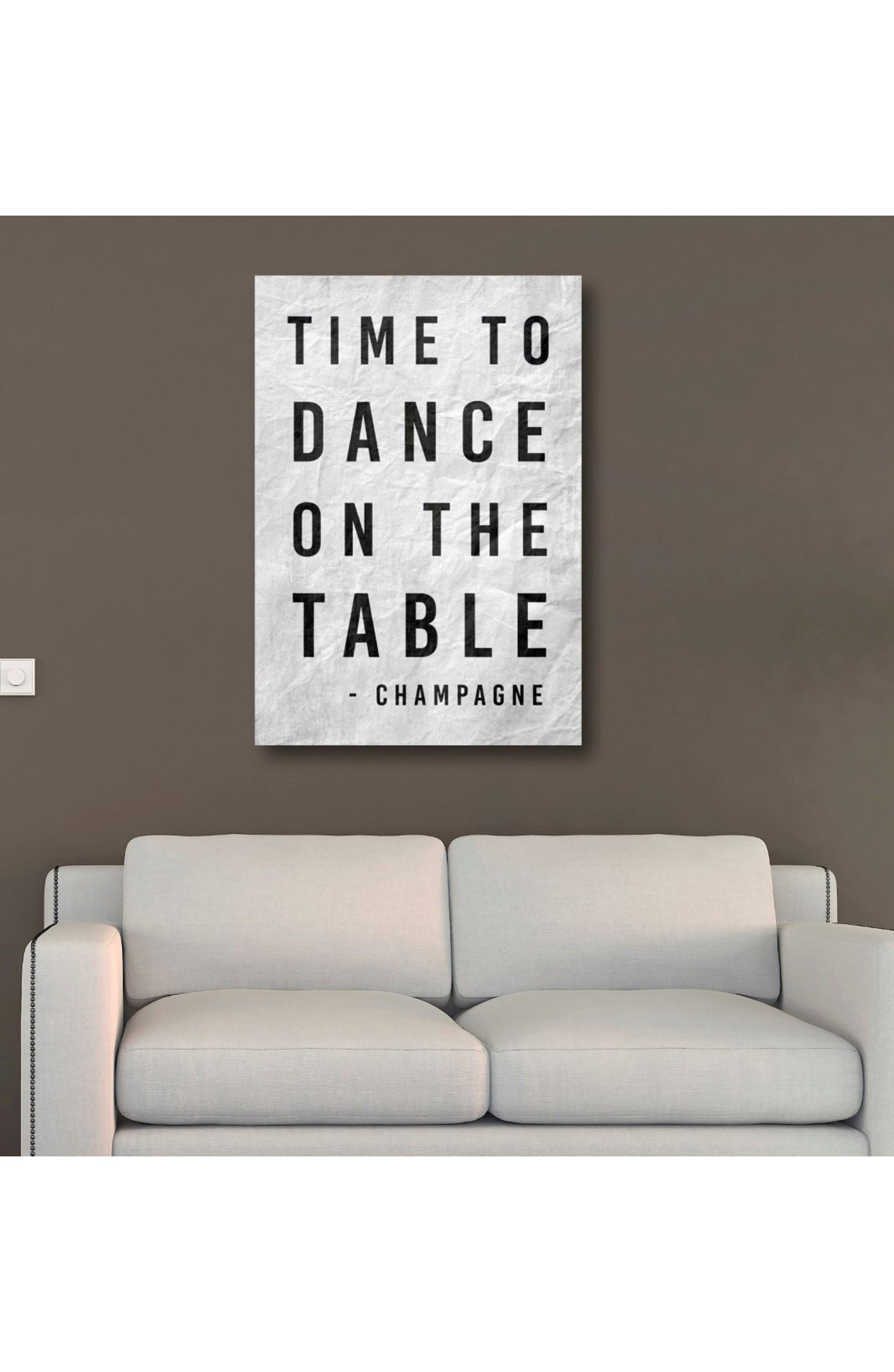 Alternate Image 2  - Oliver Gal Time to Dance Canvas Wall Art