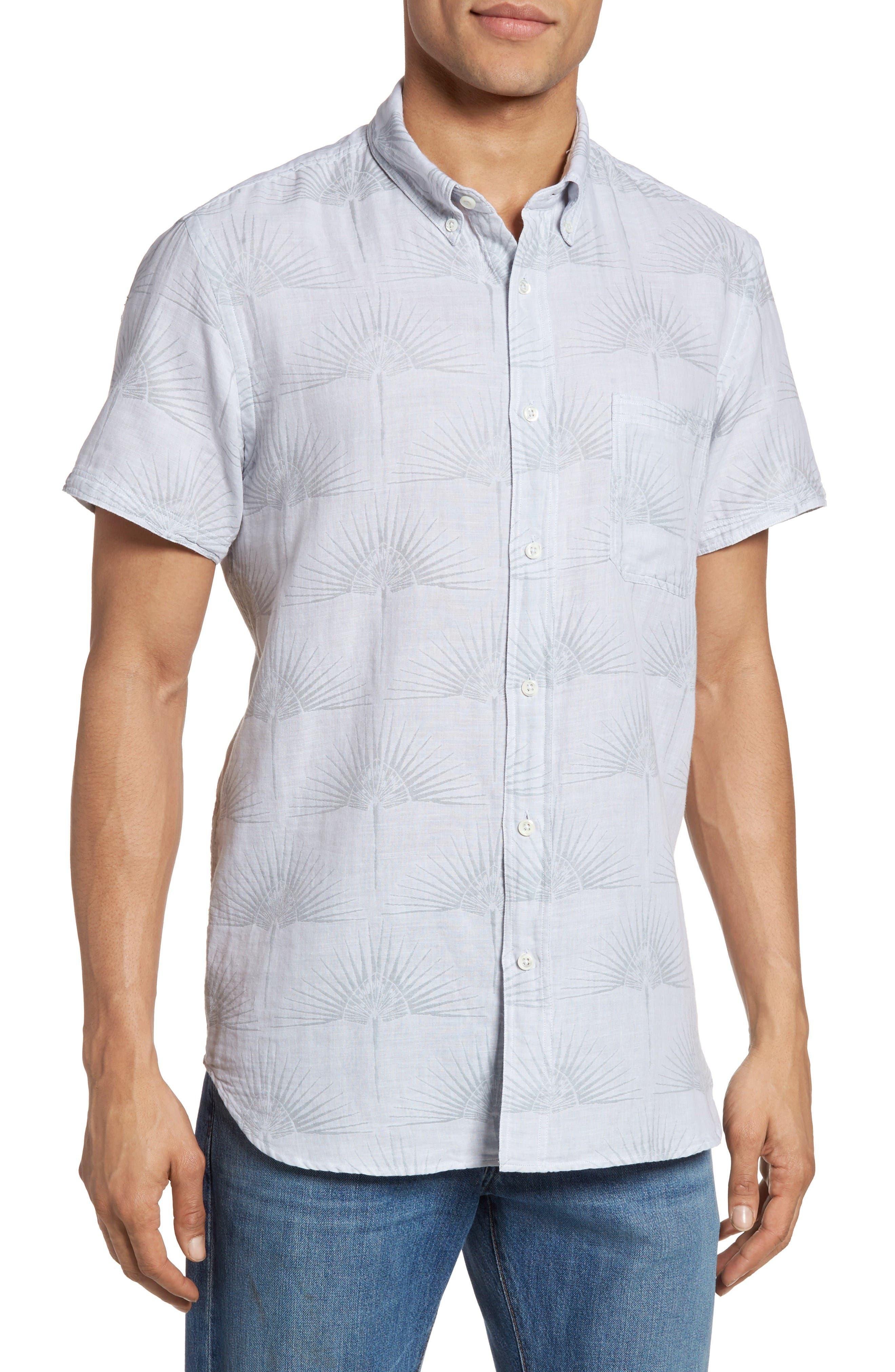 Billy Reid Tuscumbia Palm Sport Shirt