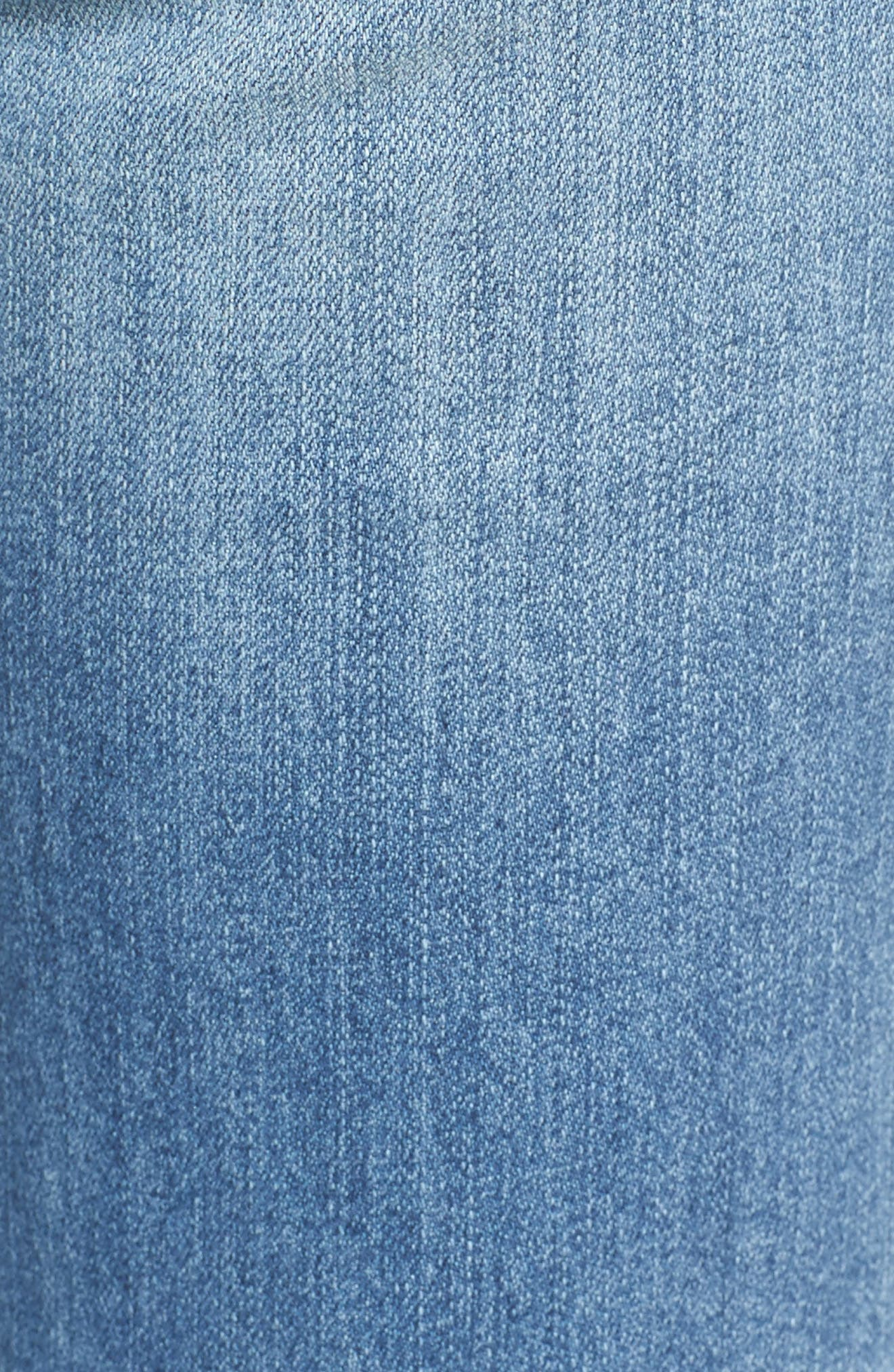 Alternate Image 5  - KUT from the Kloth Catherine Ripped & Repaired Boyfriend Jeans (Novel)