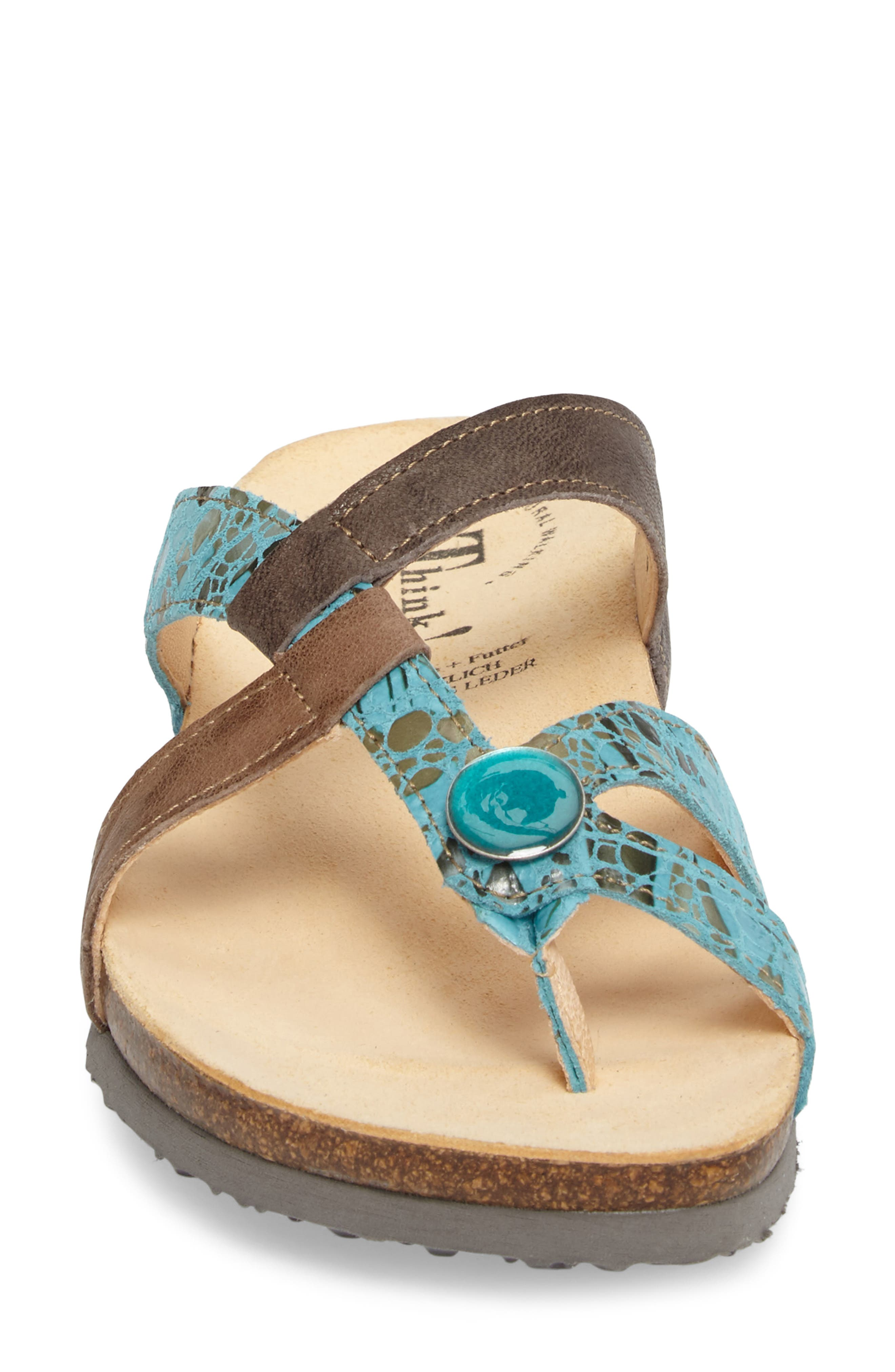 Alternate Image 4  - Think! 'Julia Strappy' Sandal