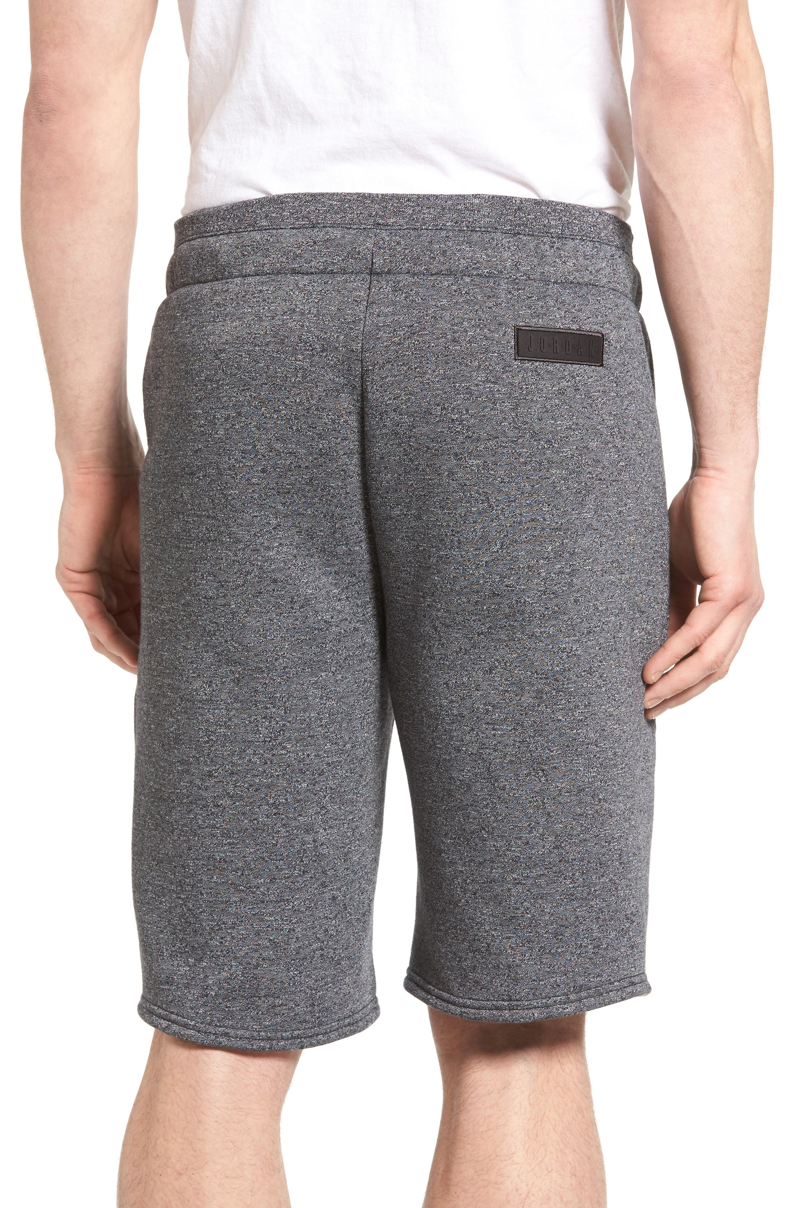 Alternate Image 2  - Nike Jordan Icon Fleece Shorts