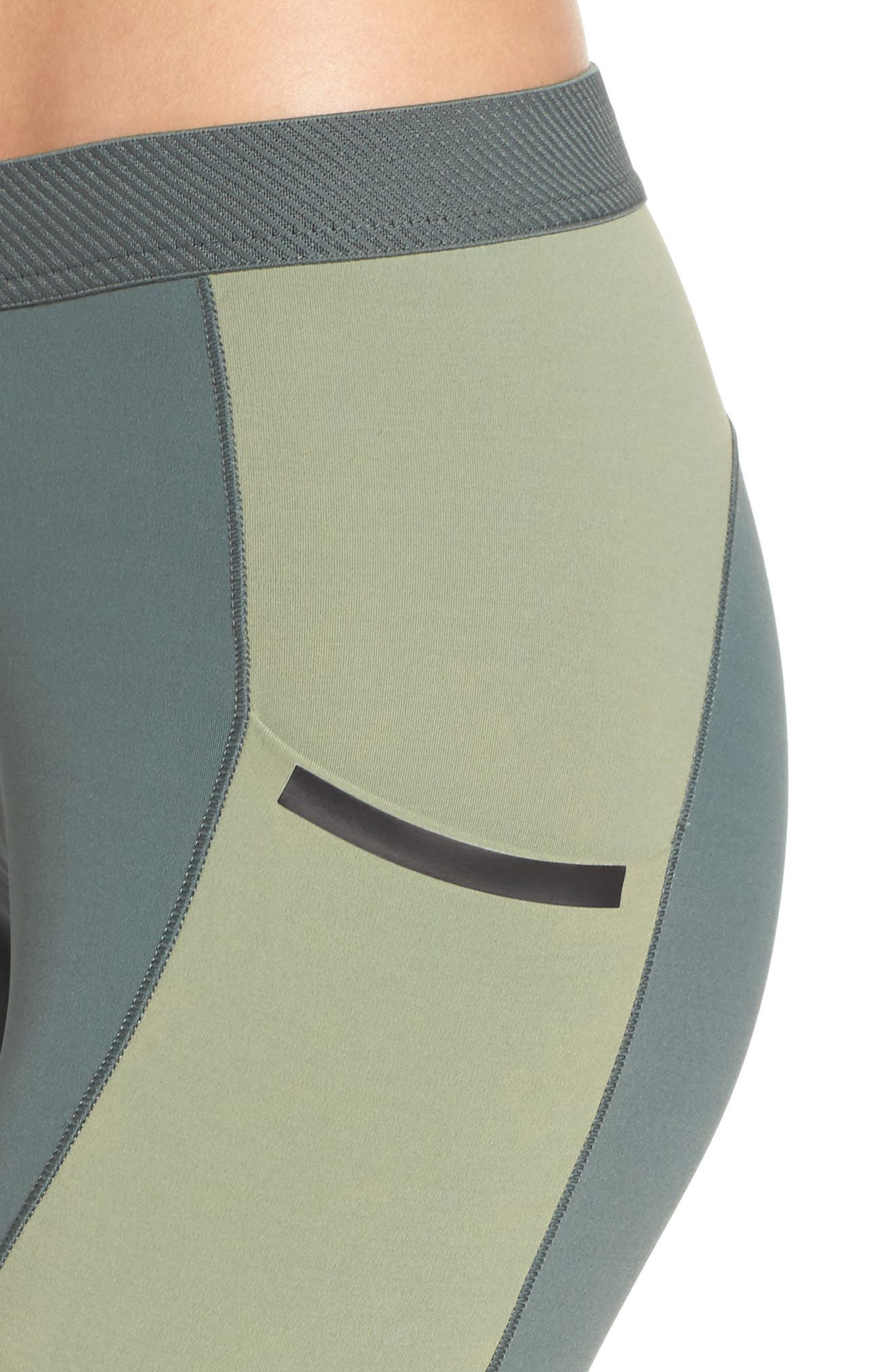 Climachill<sup>®</sup> Training Tights,                             Alternate thumbnail 4, color,                             Utility Ivy F16/ Green
