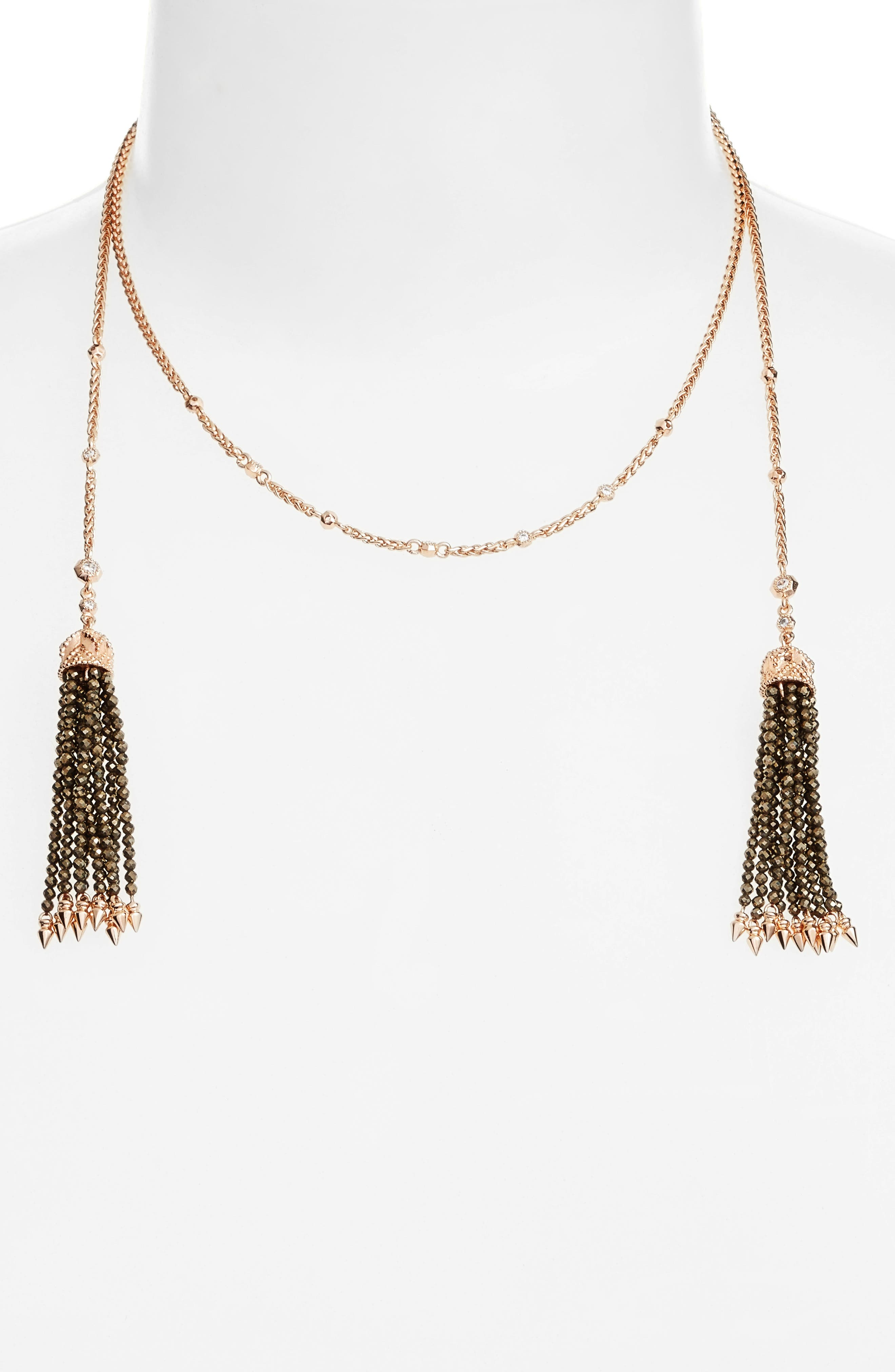 Kendra Scott Monique Tassel Necklace