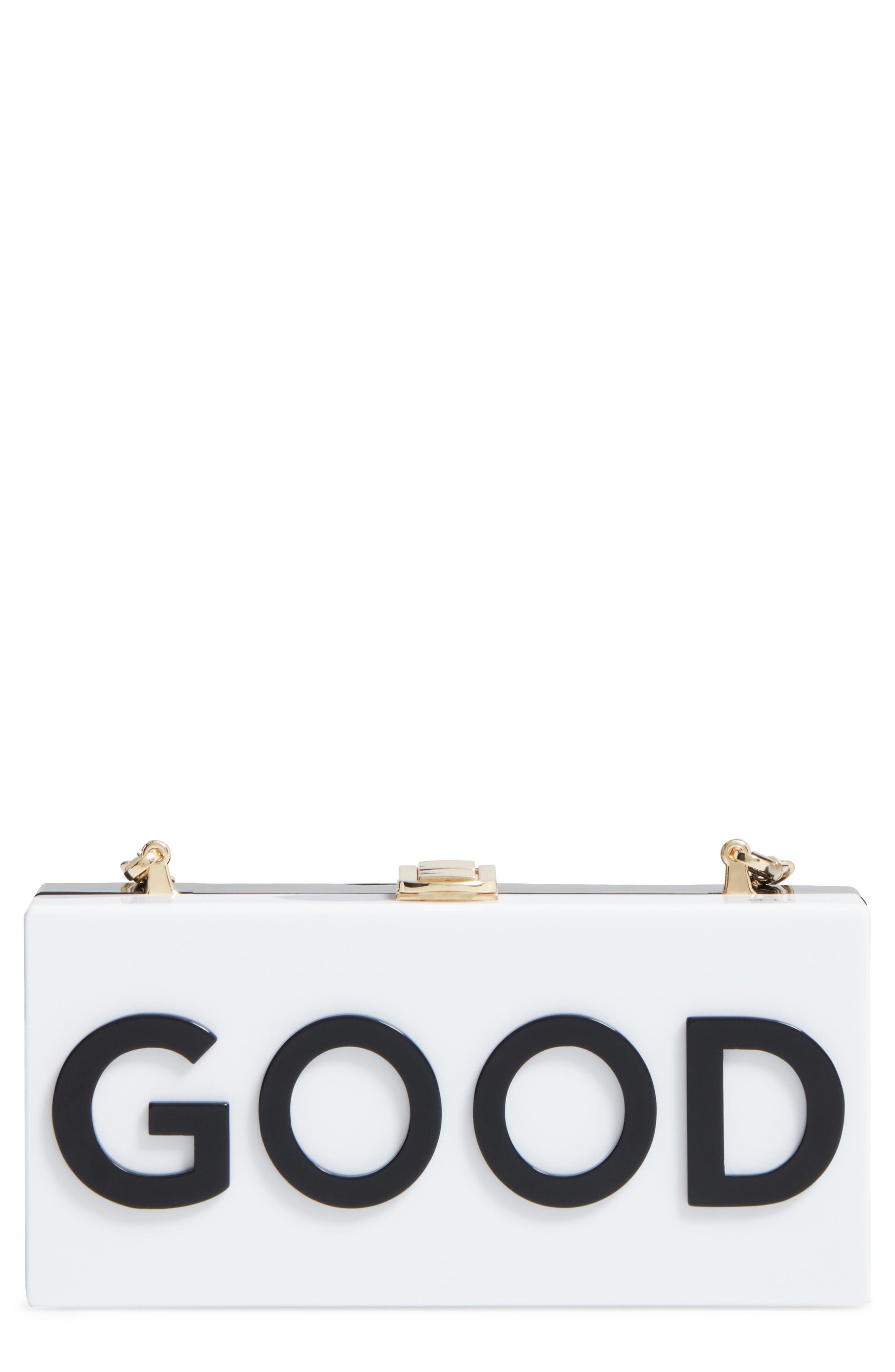 MILLY Good/Bad Box Clutch