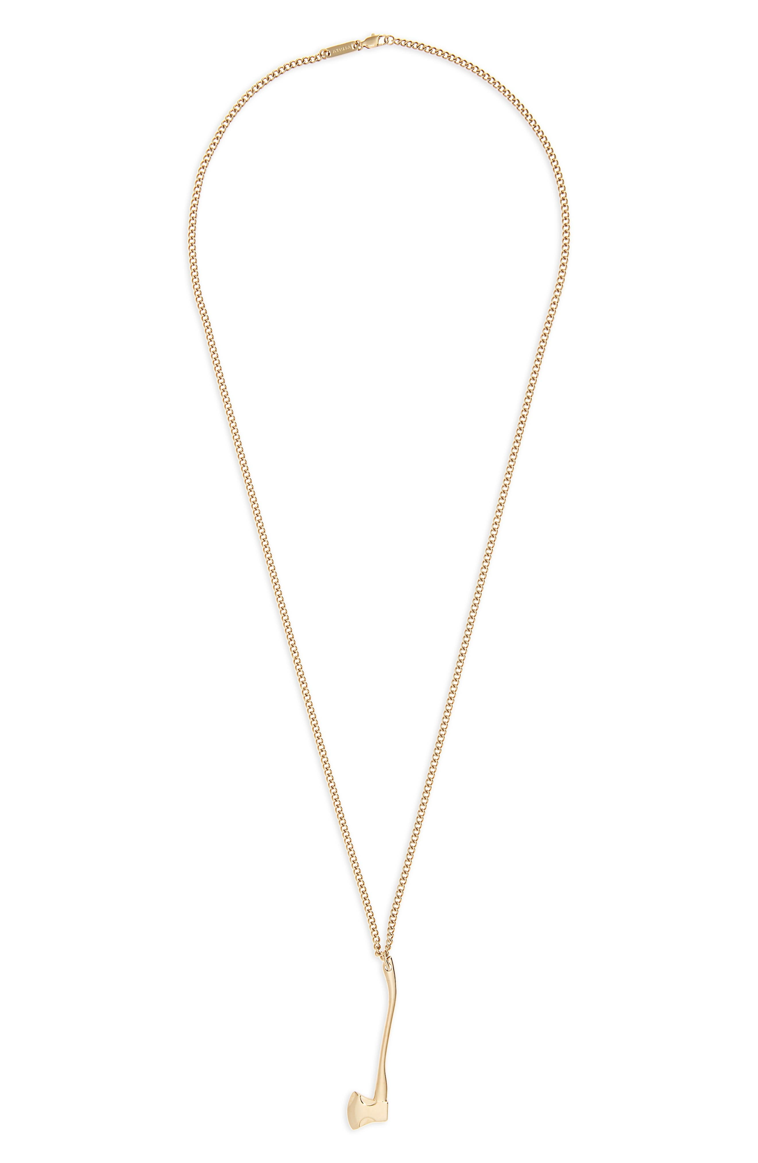 Vitaly Sequoia Pendant Necklace