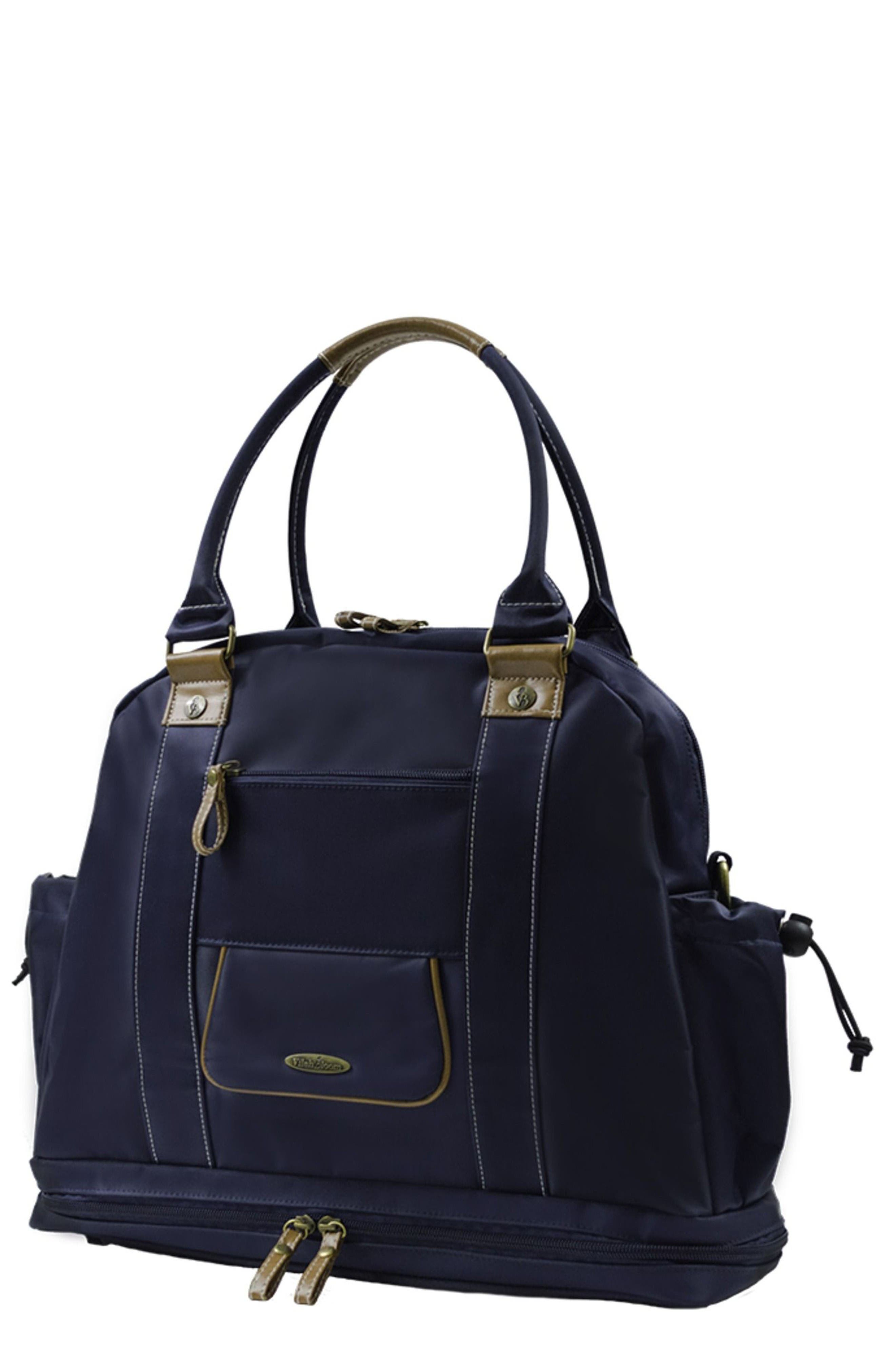 Sail Away Satchel Diaper bag,                             Main thumbnail 1, color,                             Natuical Navy