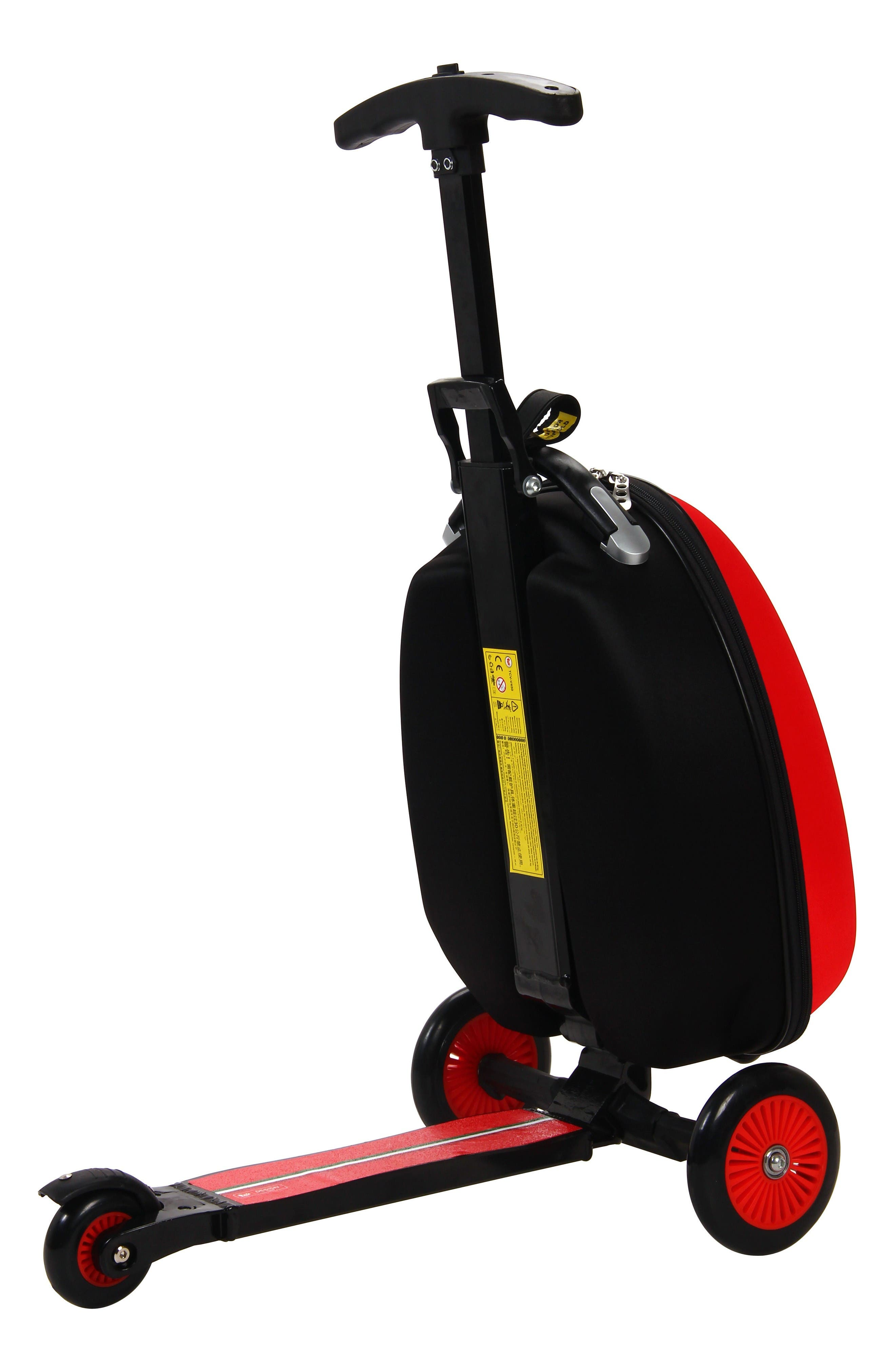 Scooter Trolley Case,                             Alternate thumbnail 3, color,                             Red