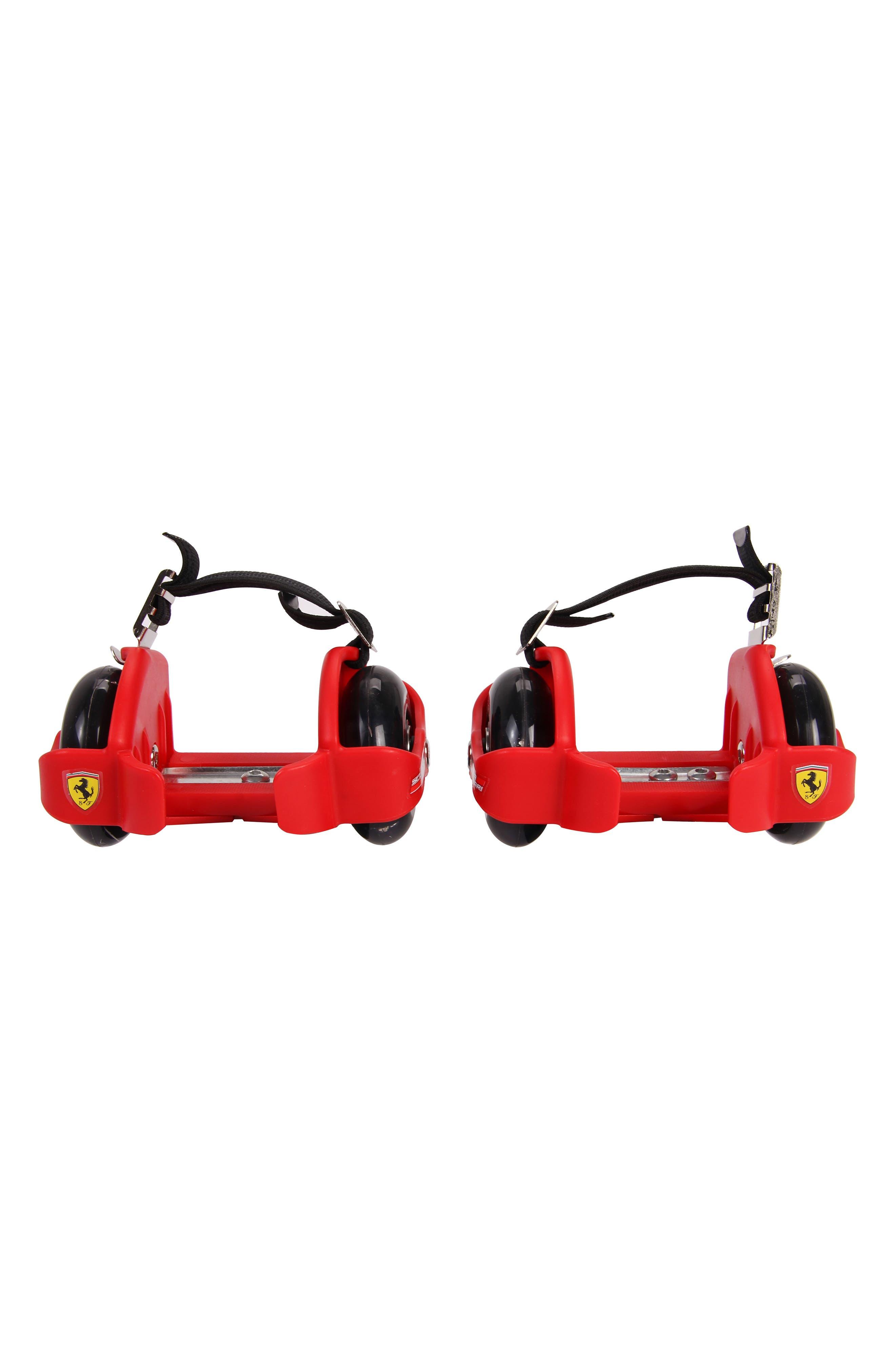 Flashing Wheels Bracket Skates,                         Main,                         color, Red