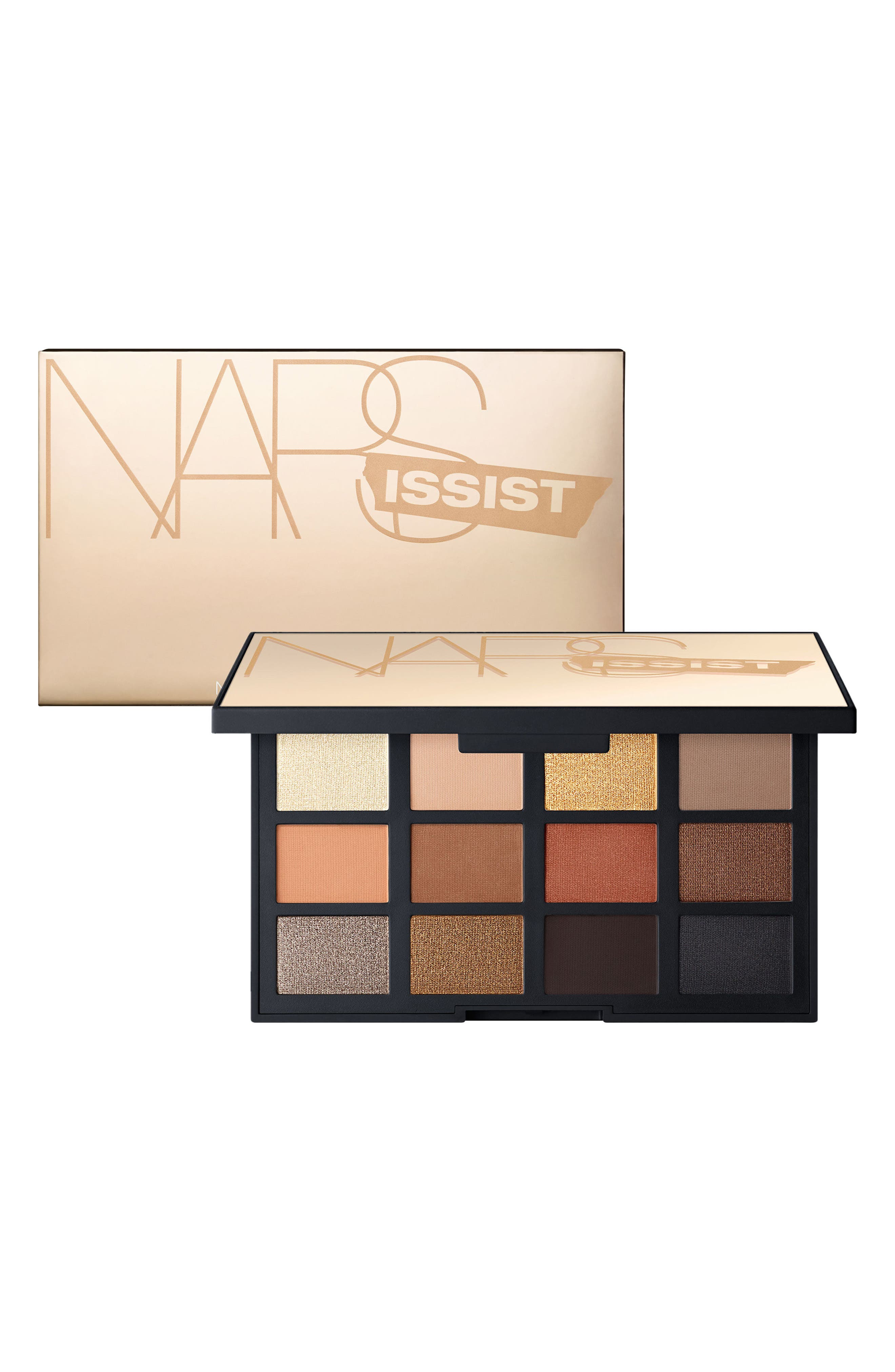 NARSissist Loaded Eyeshadow Palette,                             Alternate thumbnail 7, color,                             No Color