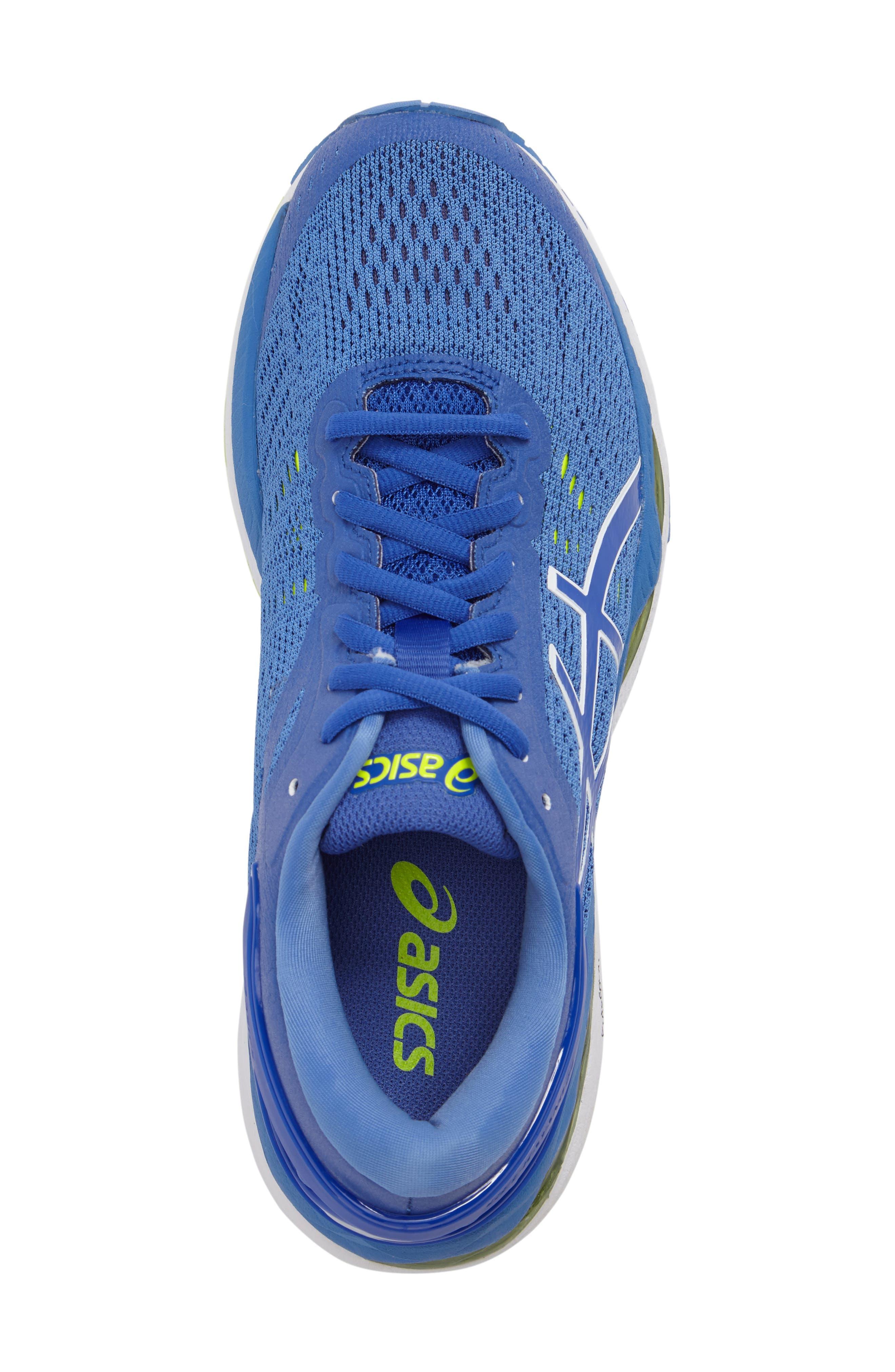 GEL-Kayano<sup>®</sup> 24 Running Shoe,                             Alternate thumbnail 5, color,                             Blue Purple/ Regatta/ White