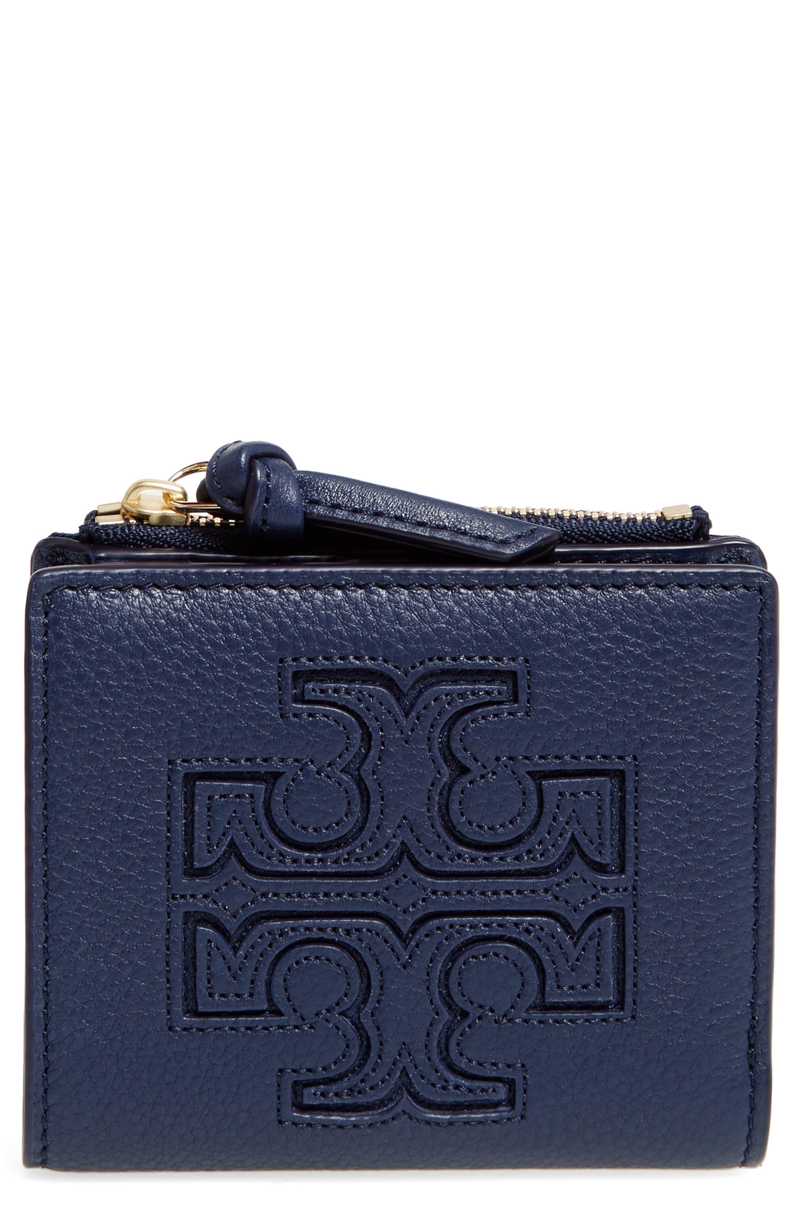 Main Image - Tory Burch 'Mini Harper' Leather Wallet