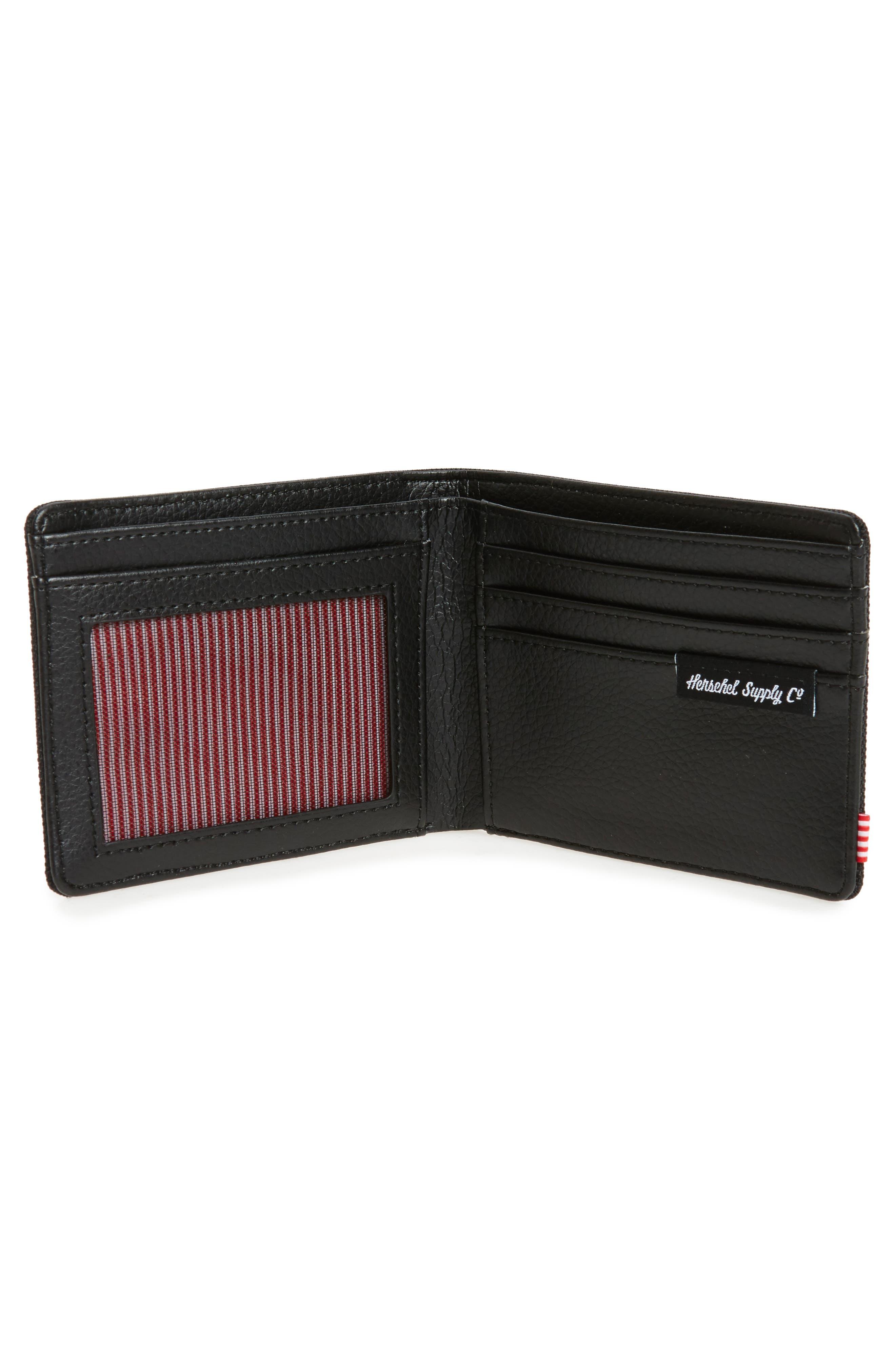 Hank RFID Bifold Wallet,                             Alternate thumbnail 2, color,                             Black