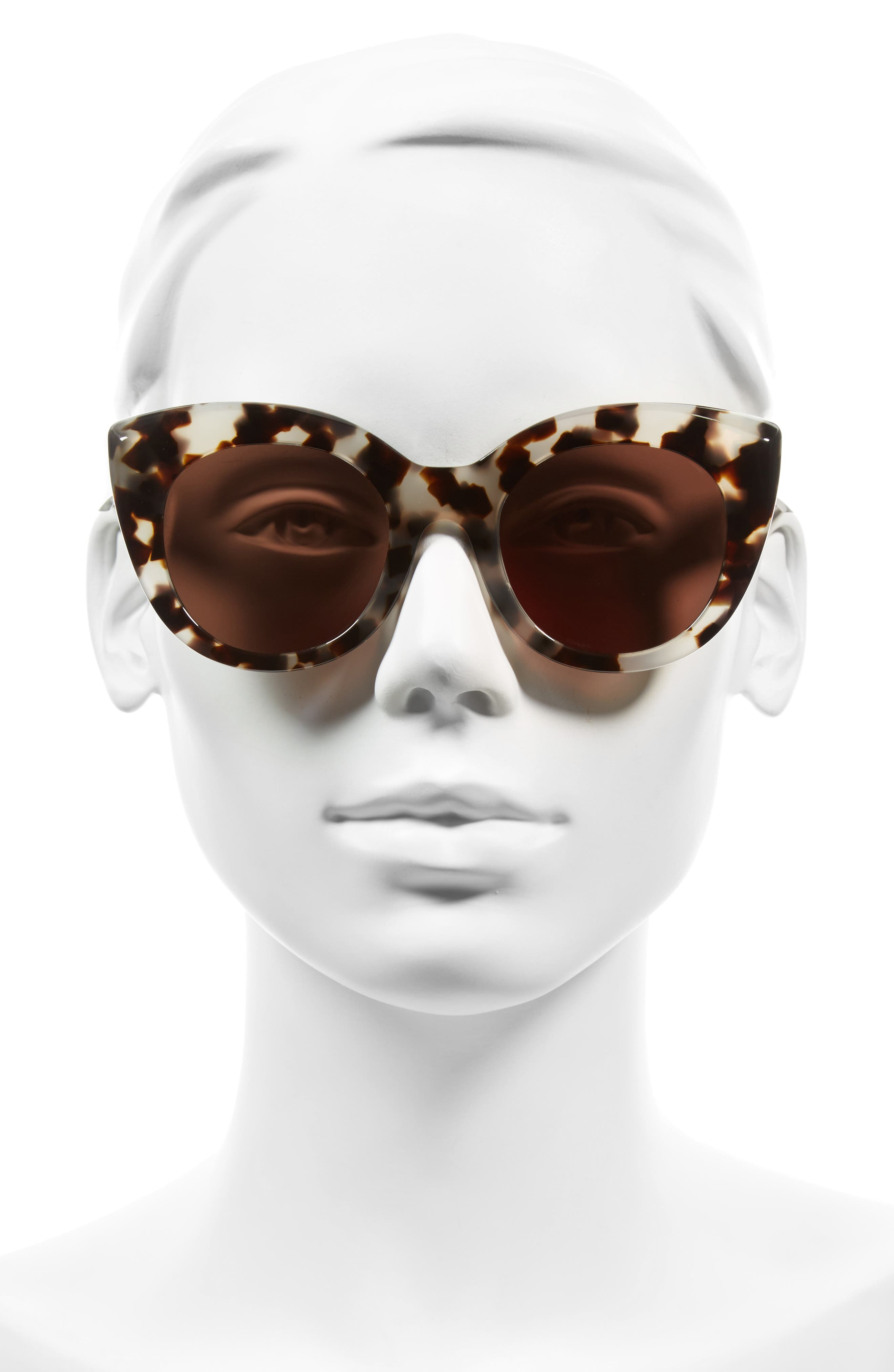 Alternate Image 2  - D'BLANC Modern Lover 49mm Cat-Eye Sunglasses