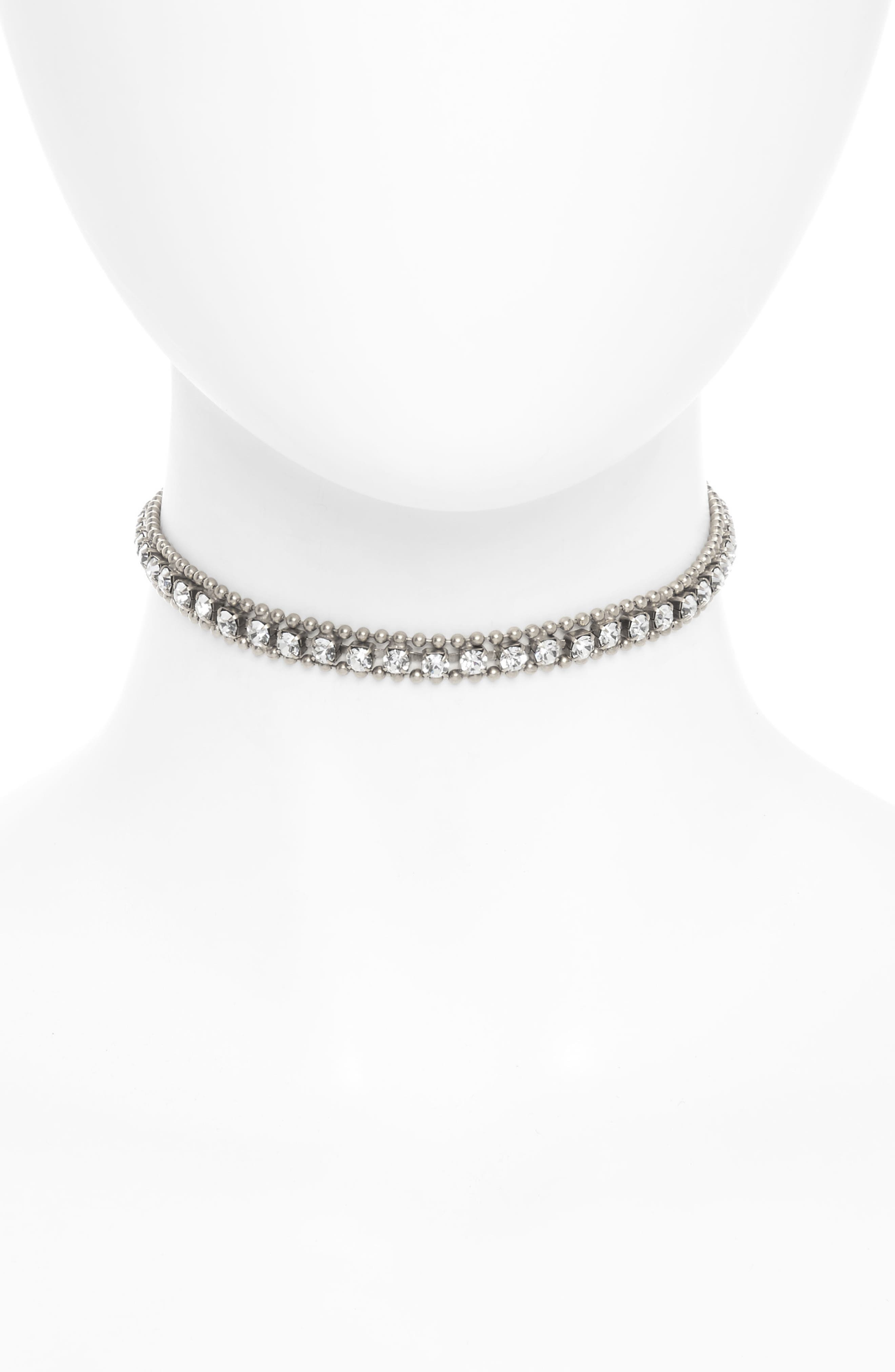Alternate Image 1 Selected - Loren Hope Crystal Choker Necklace
