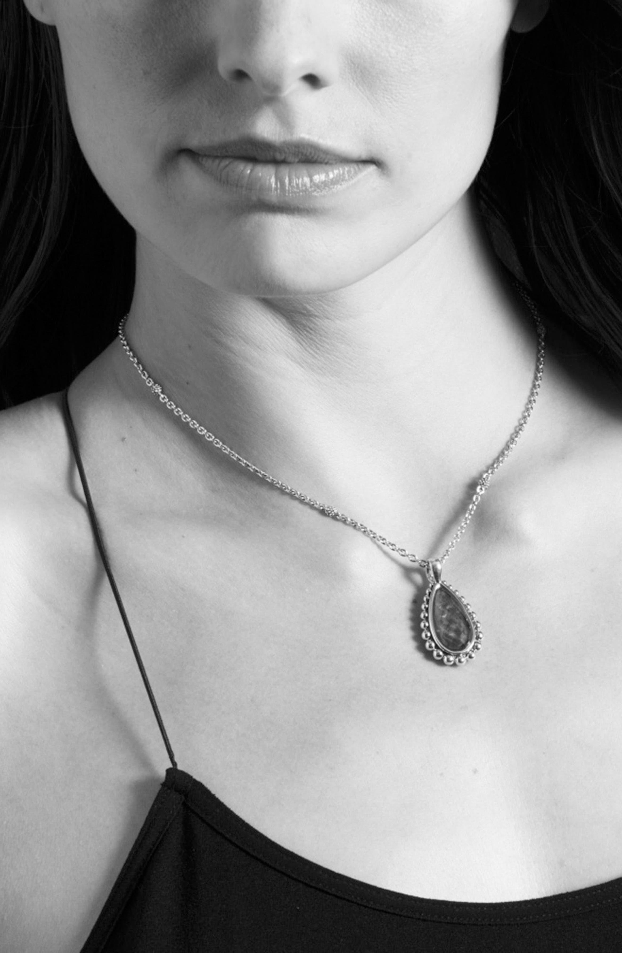 Alternate Image 3  - LAGOS 'Maya' Teardrop Pendant Necklace