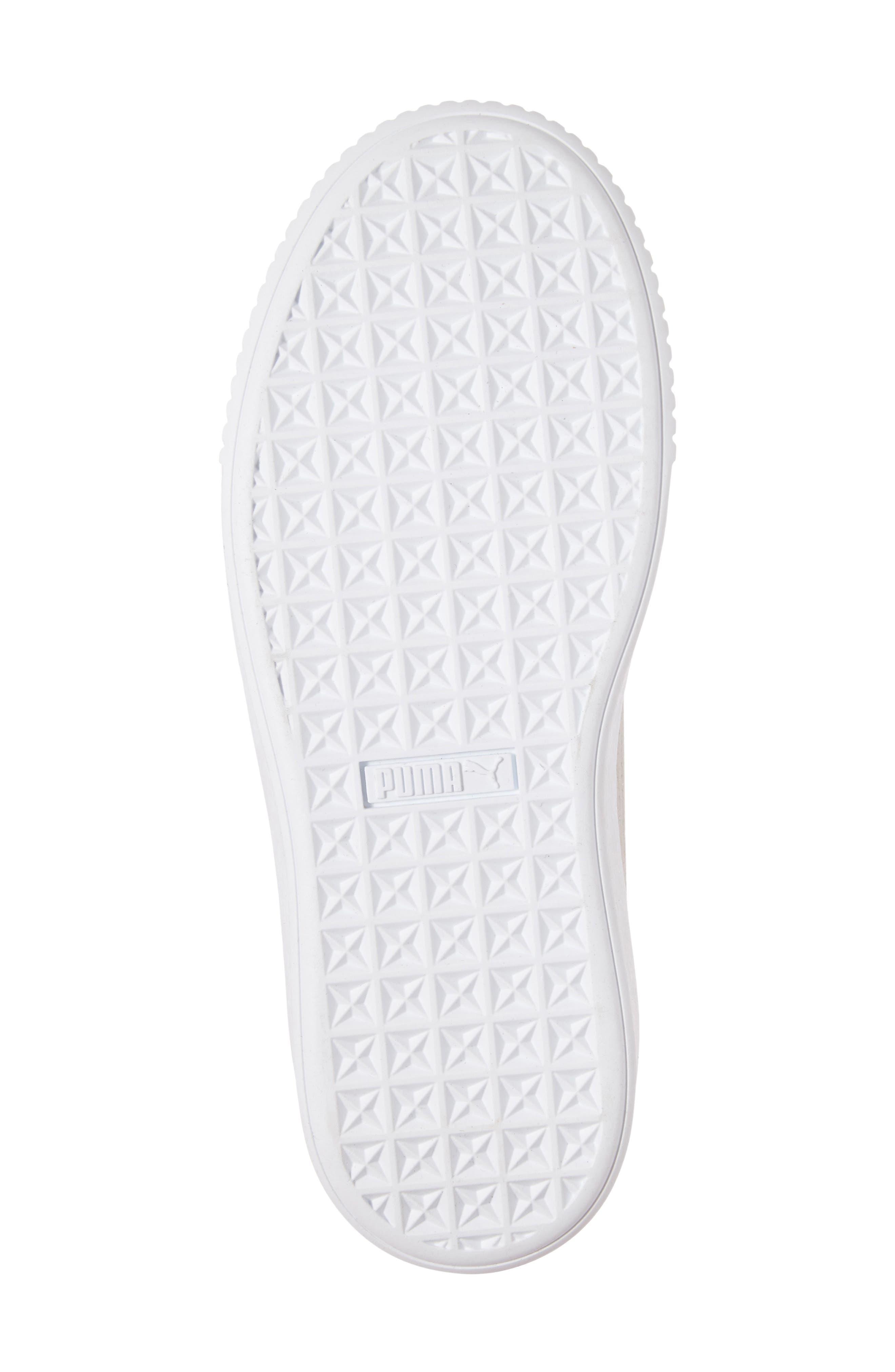 Basket Platform Sneaker,                             Alternate thumbnail 7, color,                             Grey Violet/ Silver
